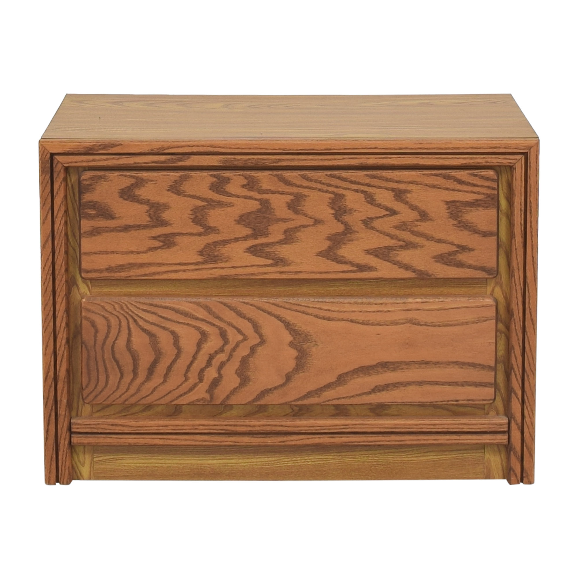 shop Bassett Furniture Flip Top Storage Nightstand  Bassett Furniture Storage