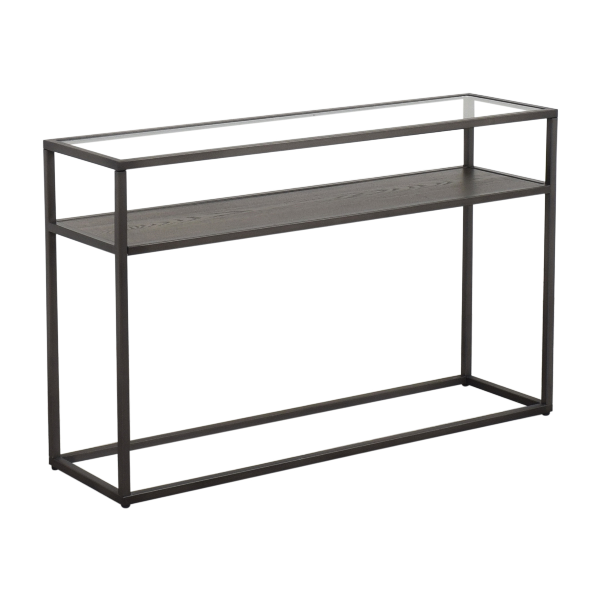 shop Crate & Barrel Switch Console Table Crate & Barrel Accent Tables