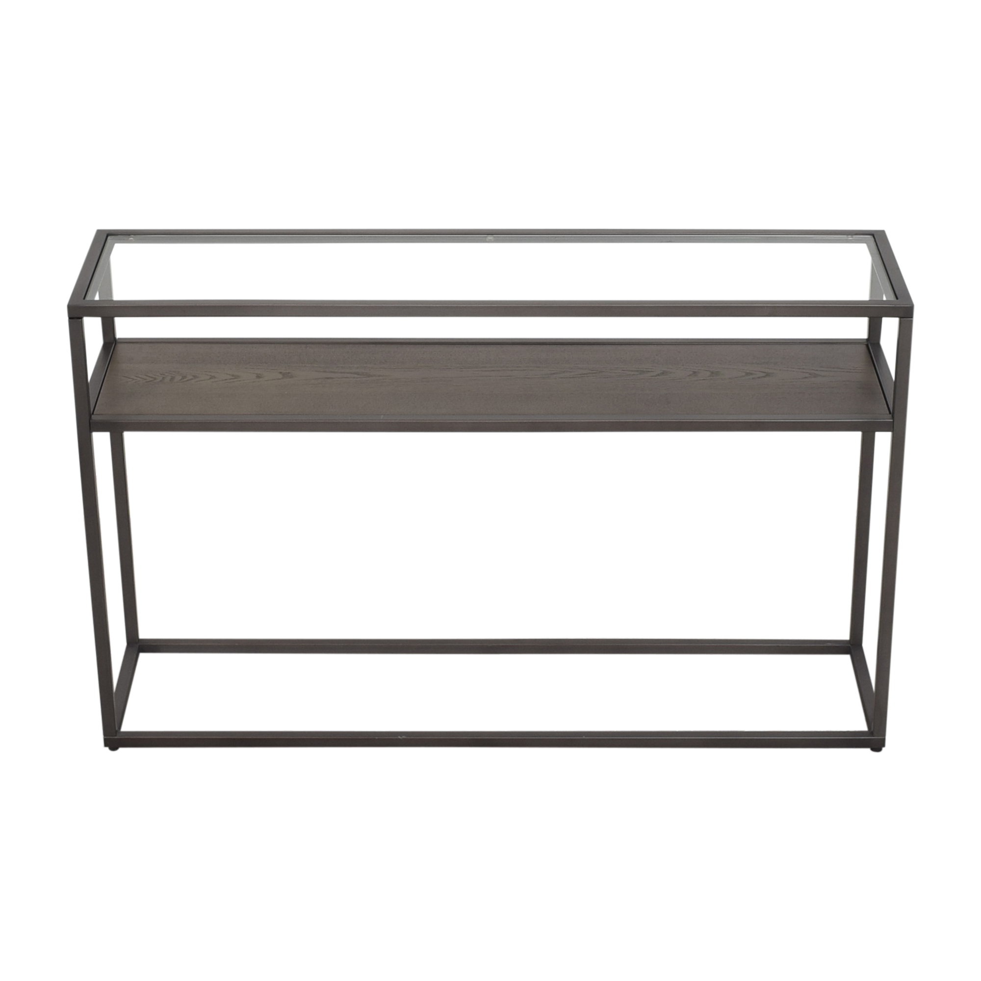 shop Crate & Barrel Switch Console Table Crate & Barrel