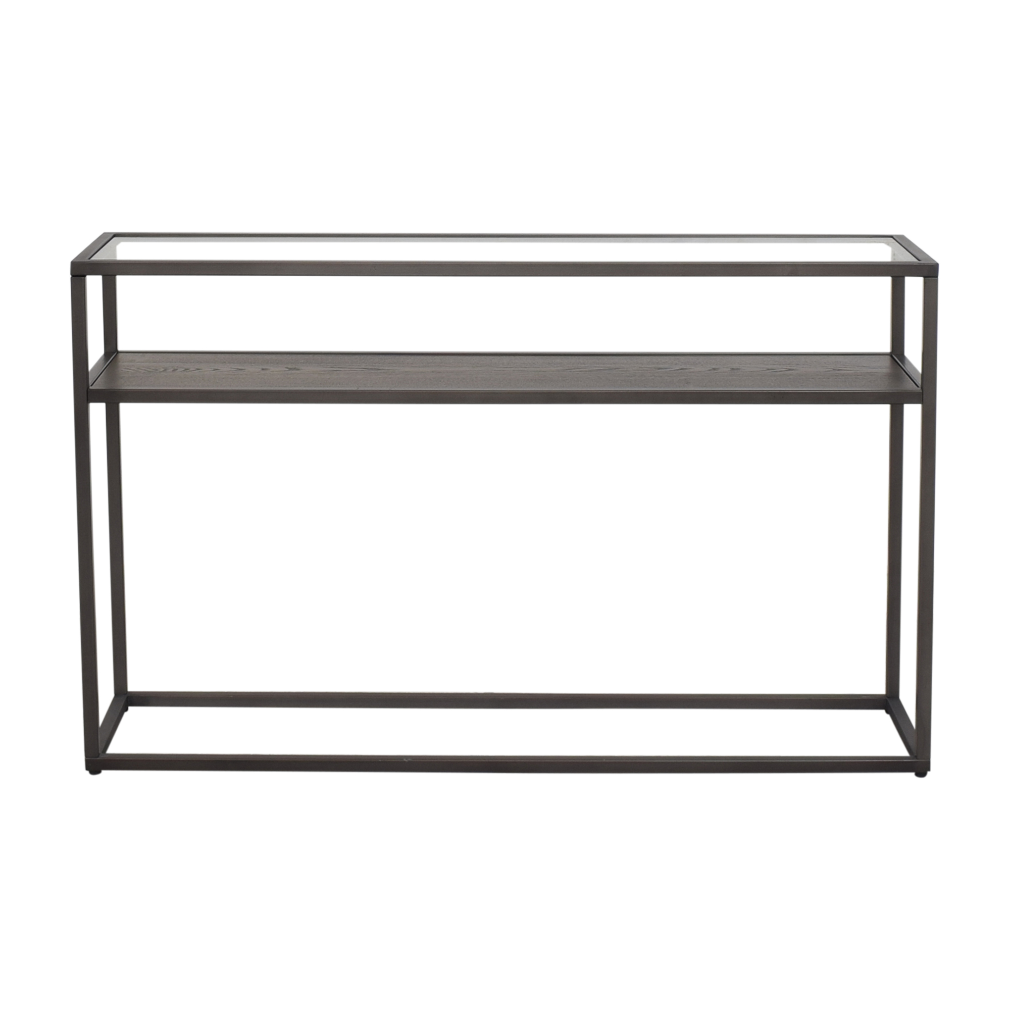 buy Crate & Barrel Switch Console Table Crate & Barrel
