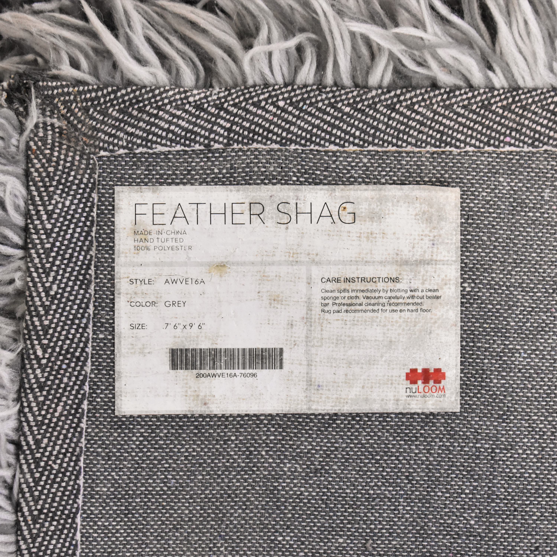 nuLOOM Feather Shag Kristan Rug / Rugs