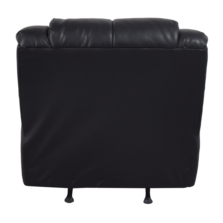 Ashley Furniture Plush Rocker Recliner / Chairs