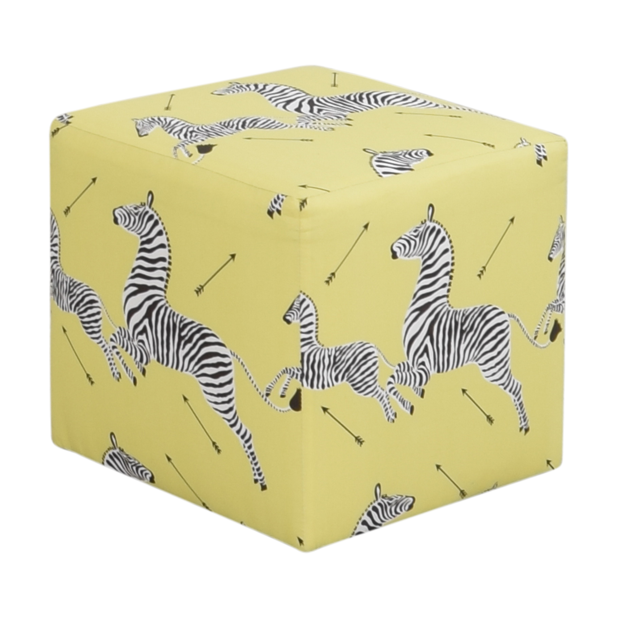 The Inside The Inside Cube Ottoman used
