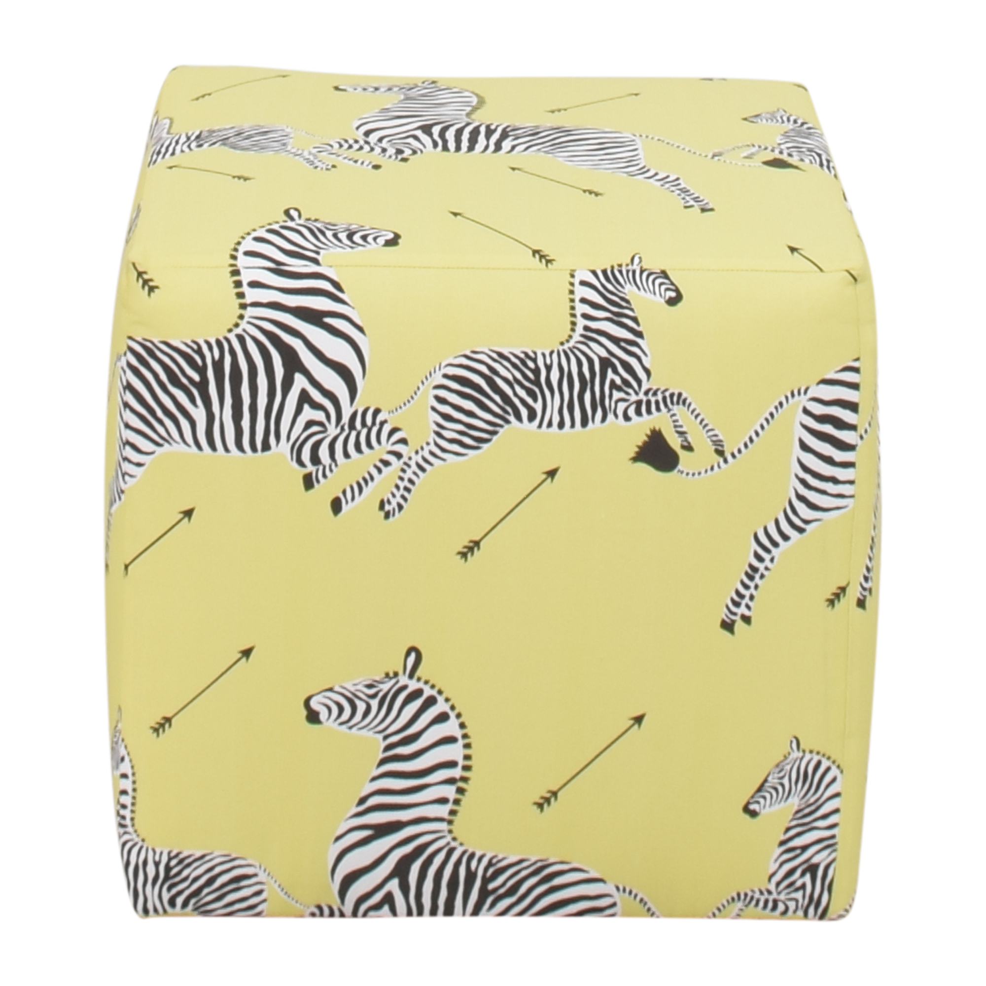 The Inside The Inside Zebra Cube Ottoman coupon