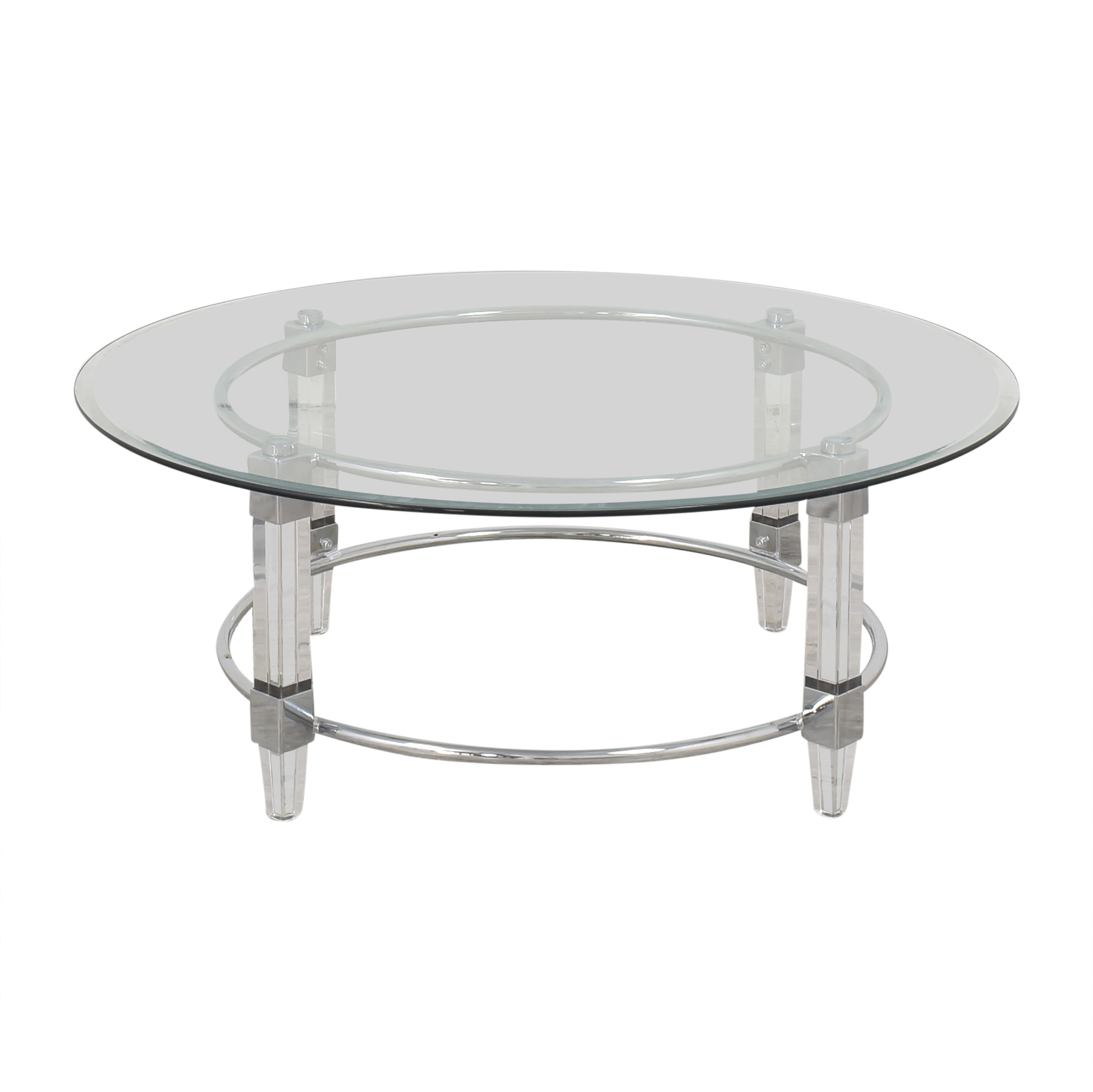 buy Raymour & Flanigan Greta Round Cocktail Table Raymour & Flanigan Tables