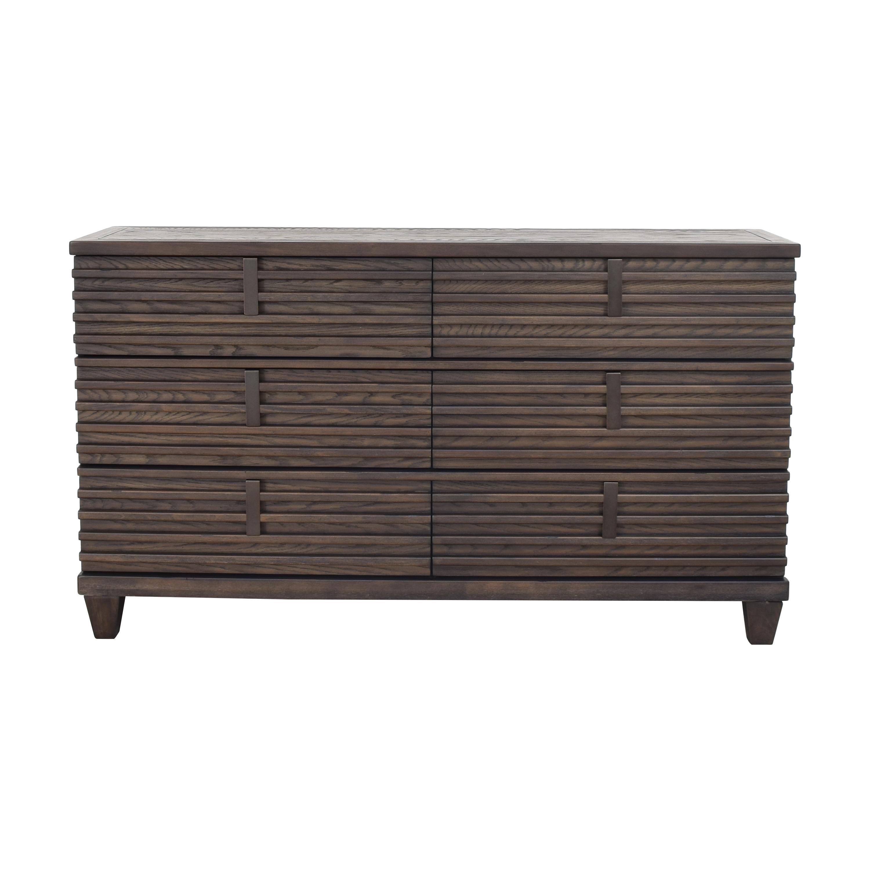 Raymour & Flanigan San Pedro Six Drawer Dresser / Storage