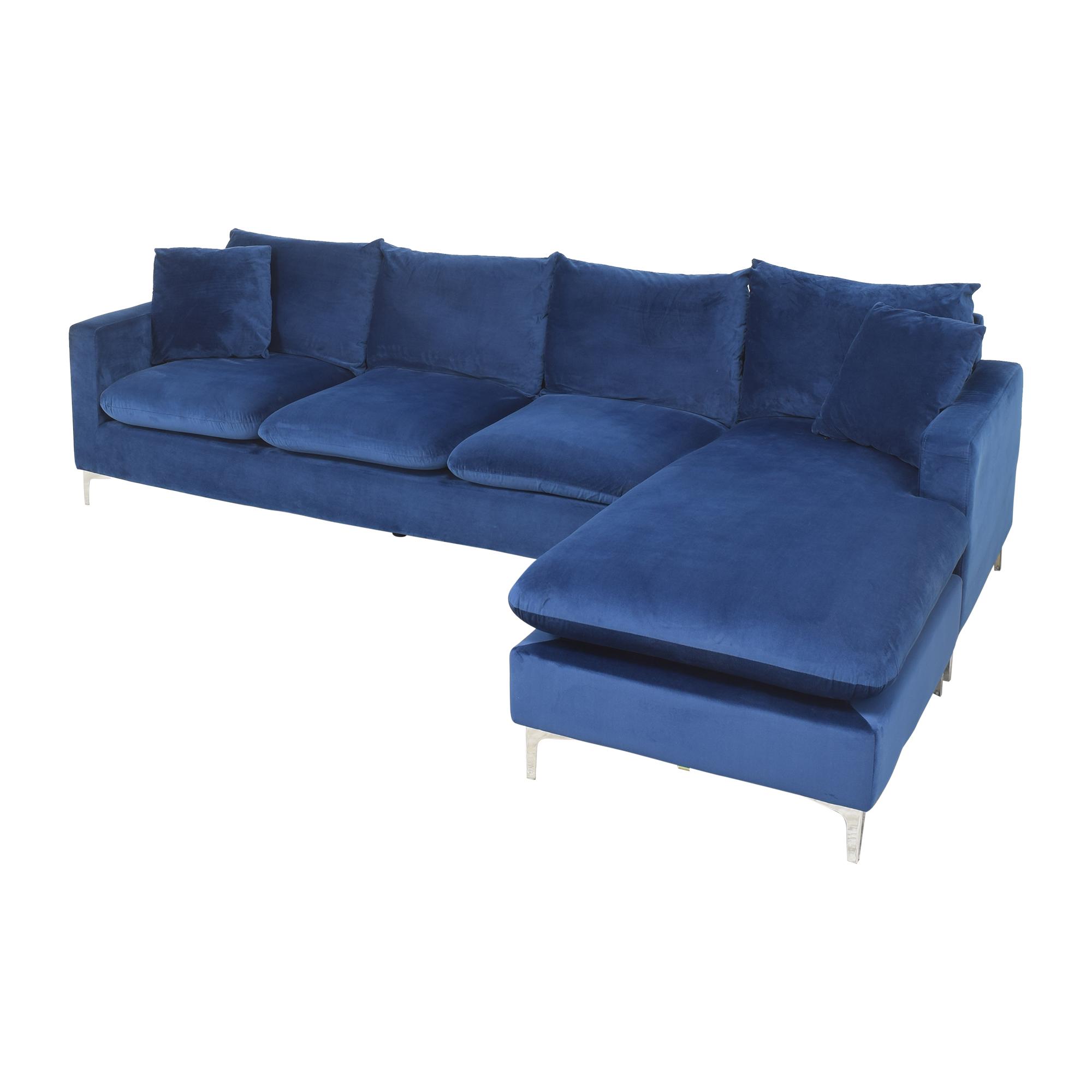 Wayfair Wayfair Boutwell Reversible Sectional Sofa pa