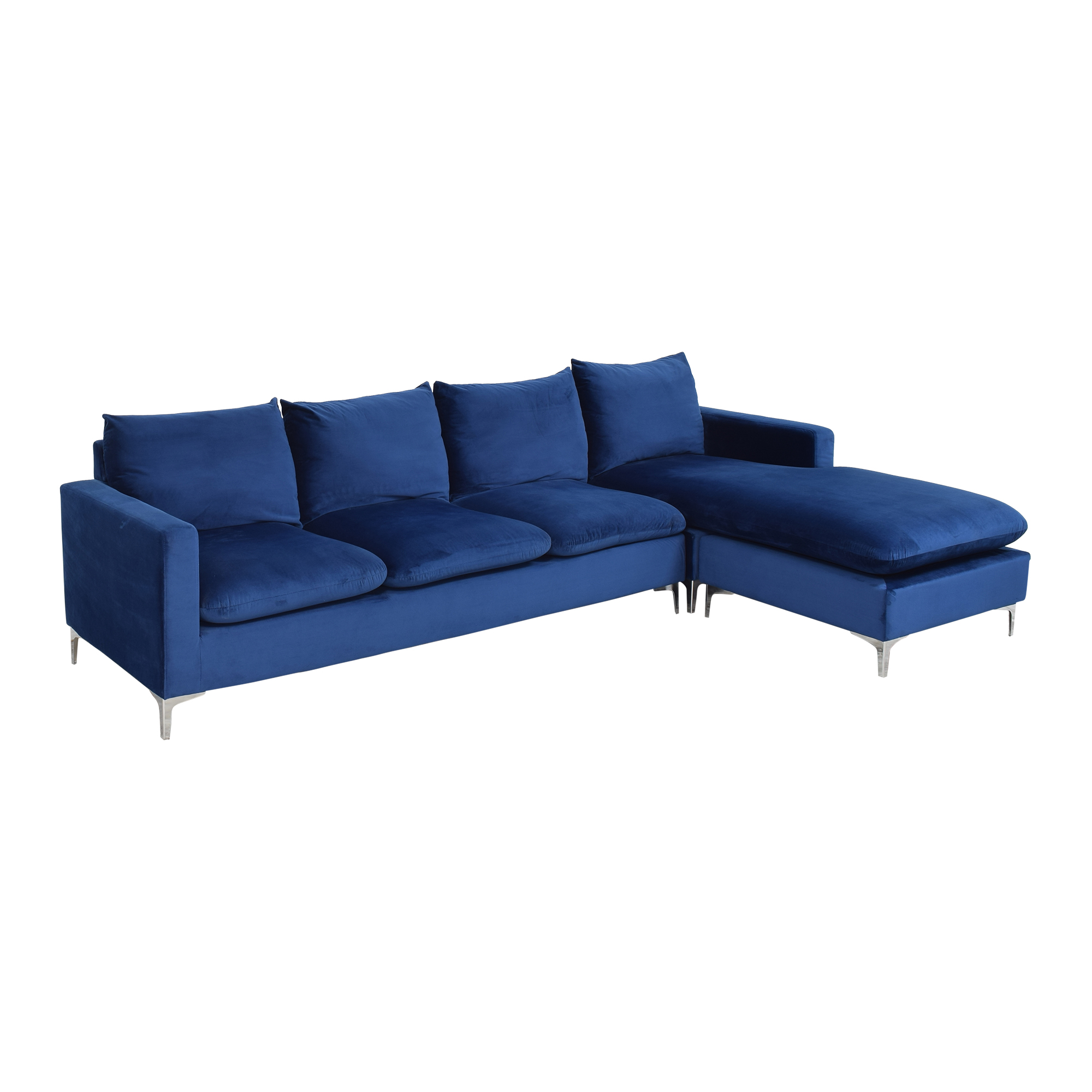 Wayfair Wayfair Boutwell Reversible Sectional Sofa for sale