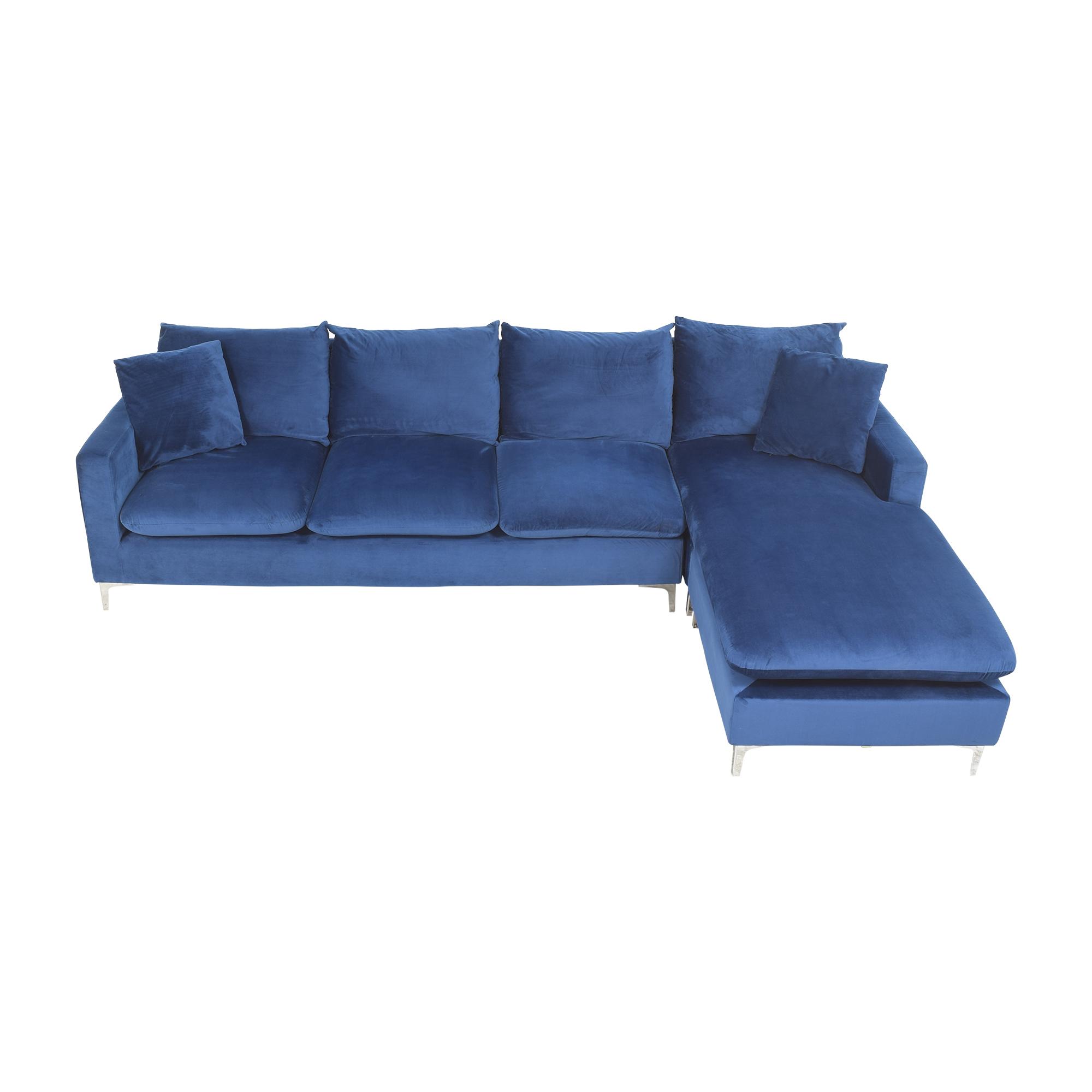 Wayfair Wayfair Boutwell Reversible Sectional Sofa discount