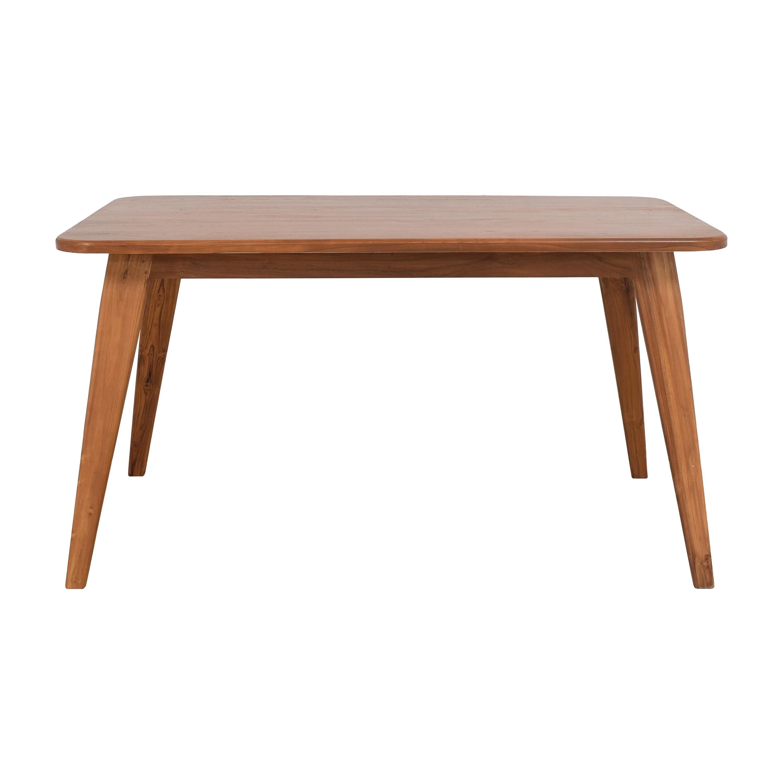 Custom Danish-Style Dining Table