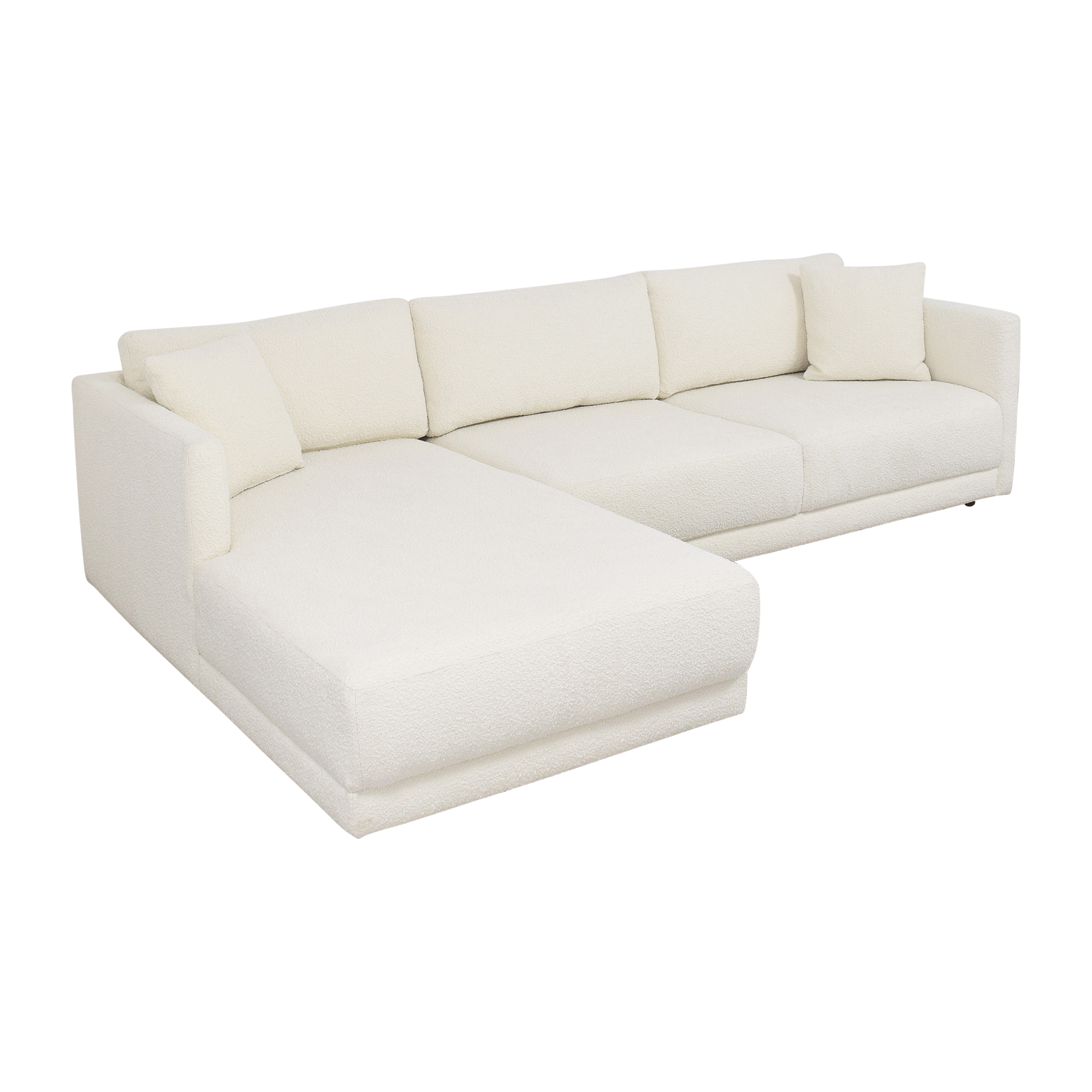 Kardiel Kardiel Domus Chaise Sectional Sofa for sale