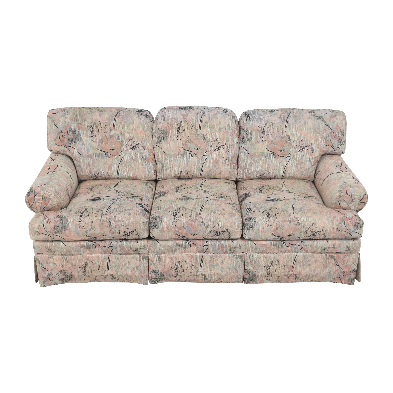 Ethan Allen Ethan Allen Three Cushion Floral Sofa
