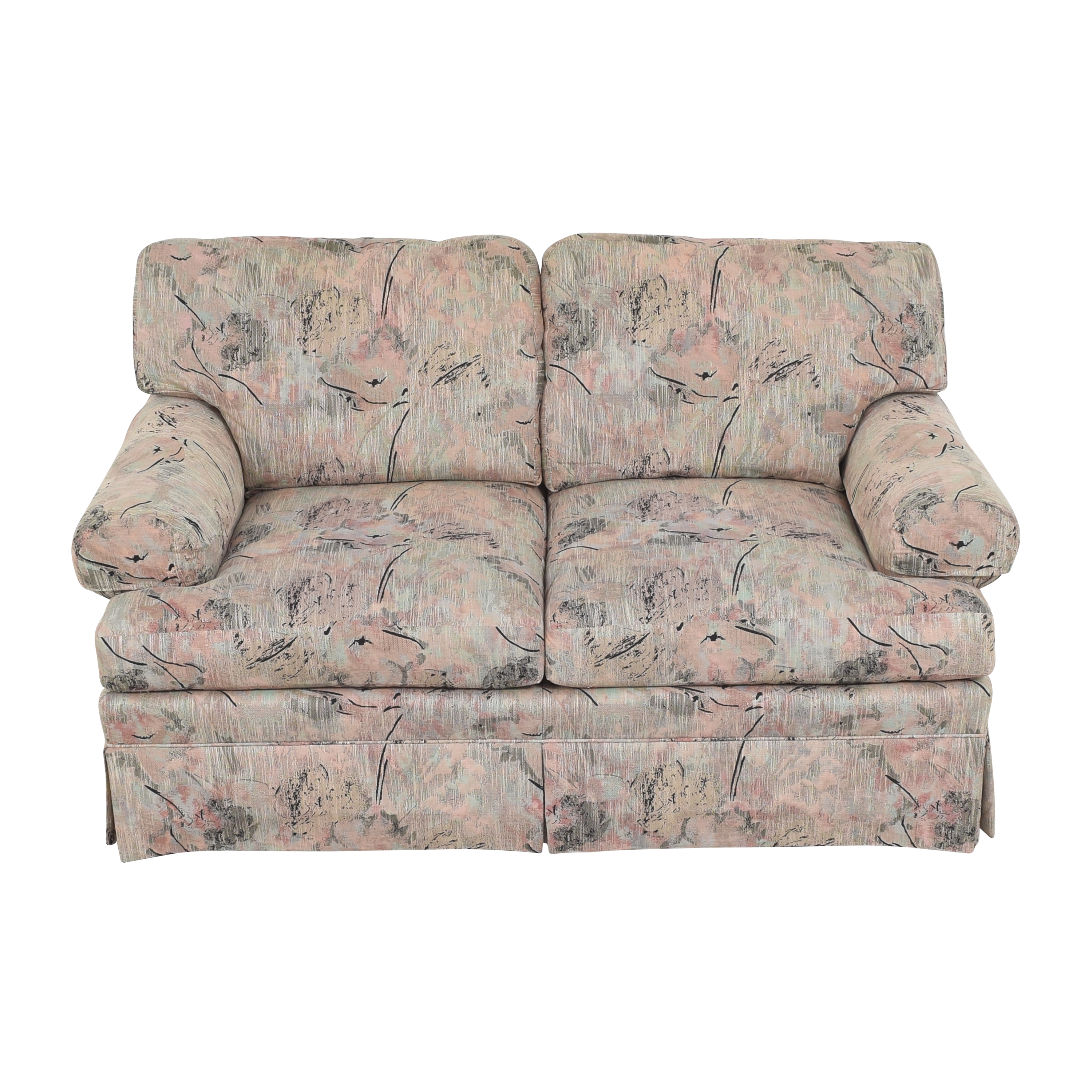 Ethan Allen Ethan Allen Two Cushion Floral Loveseat nyc
