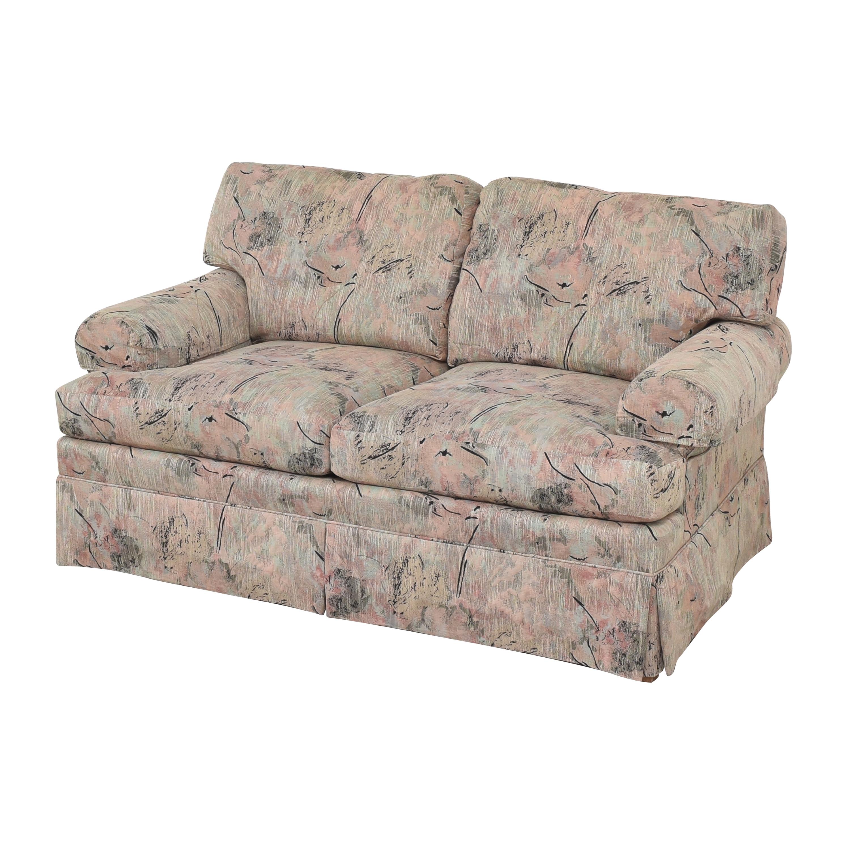 Ethan Allen Ethan Allen Two Cushion Floral Loveseat multi