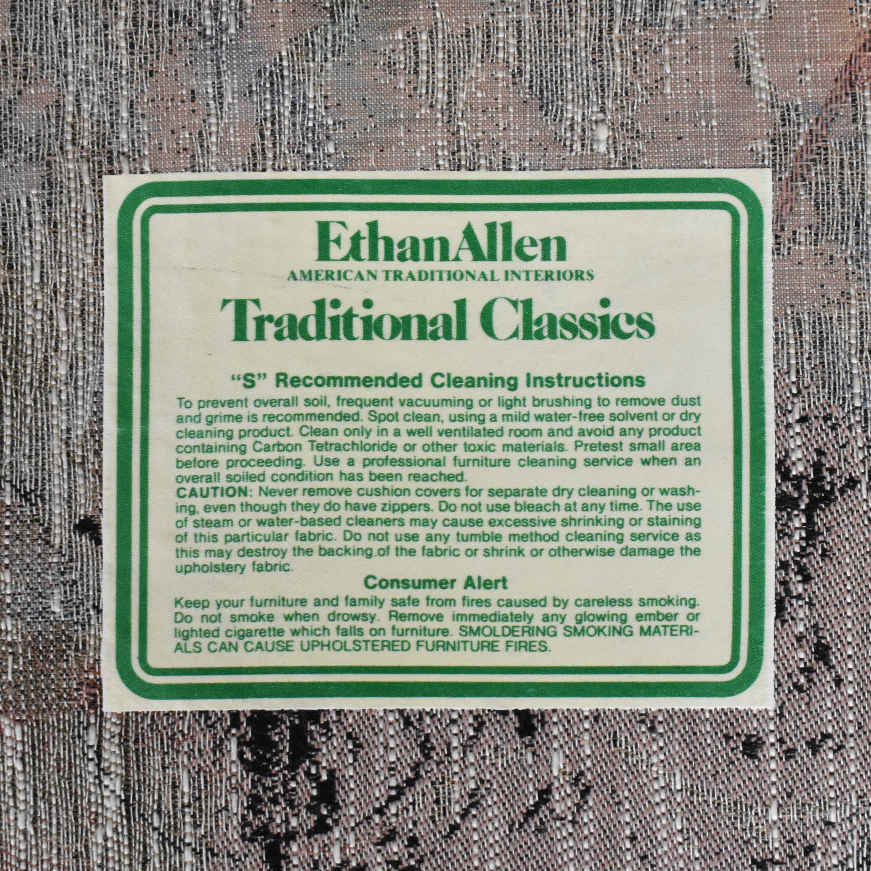 Ethan Allen Two Cushion Floral Loveseat / Loveseats