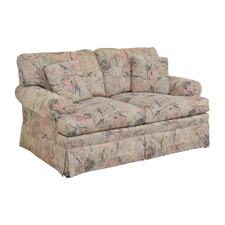 Ethan Allen Ethan Allen Two Cushion Floral Loveseat nj