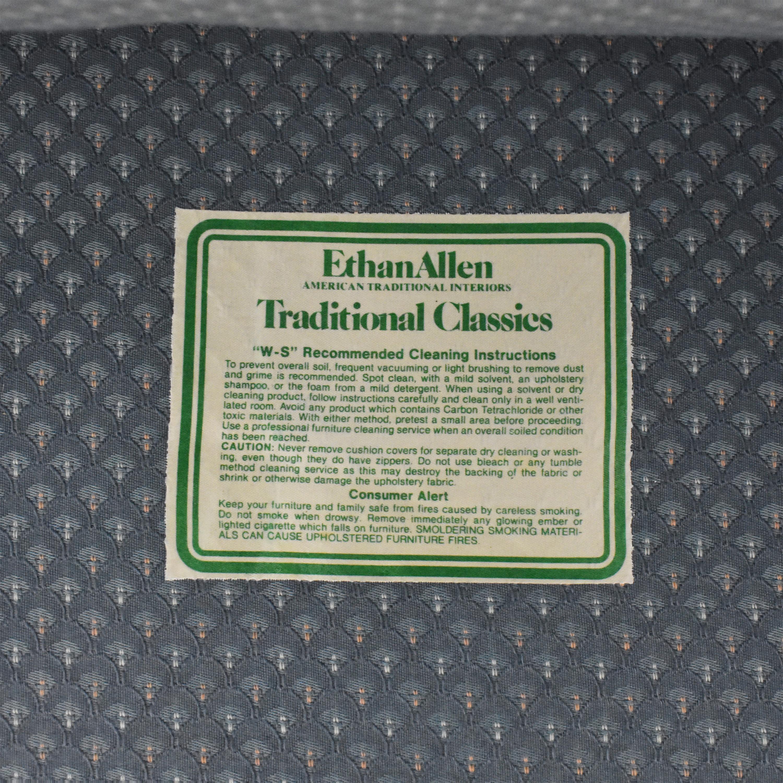 Ethan Allen Ethan Allen Club Chair blue