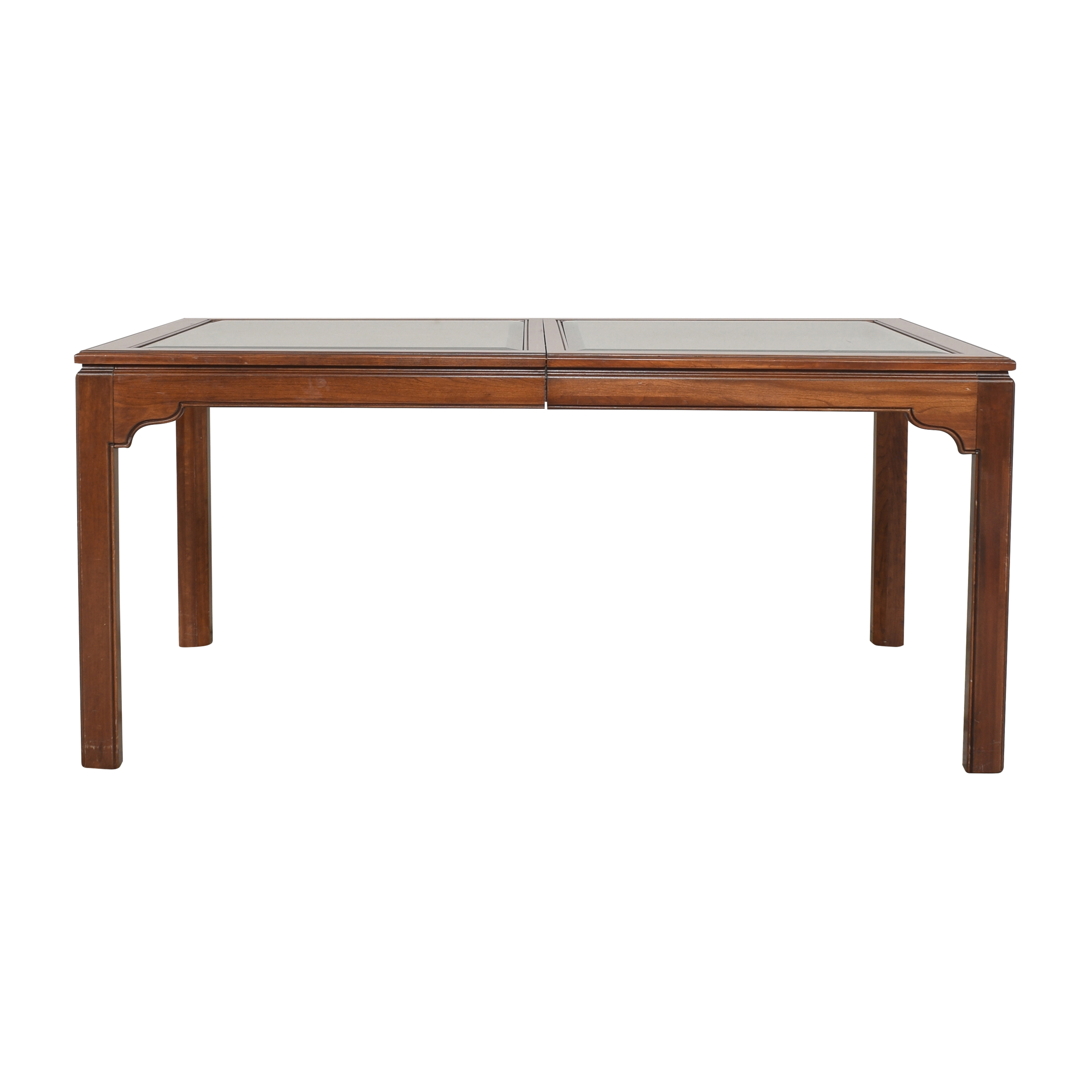 Ethan Allen Ethan Allen Canova Campaign Extendable Dining Table  used