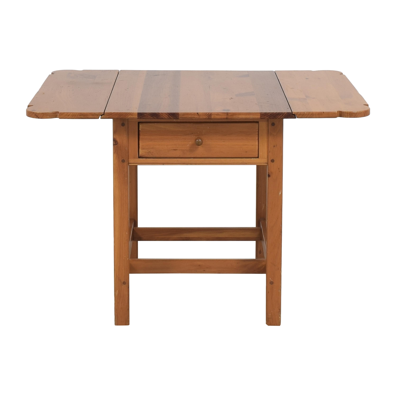 Ethan Allen Drop Leaf Side Table sale