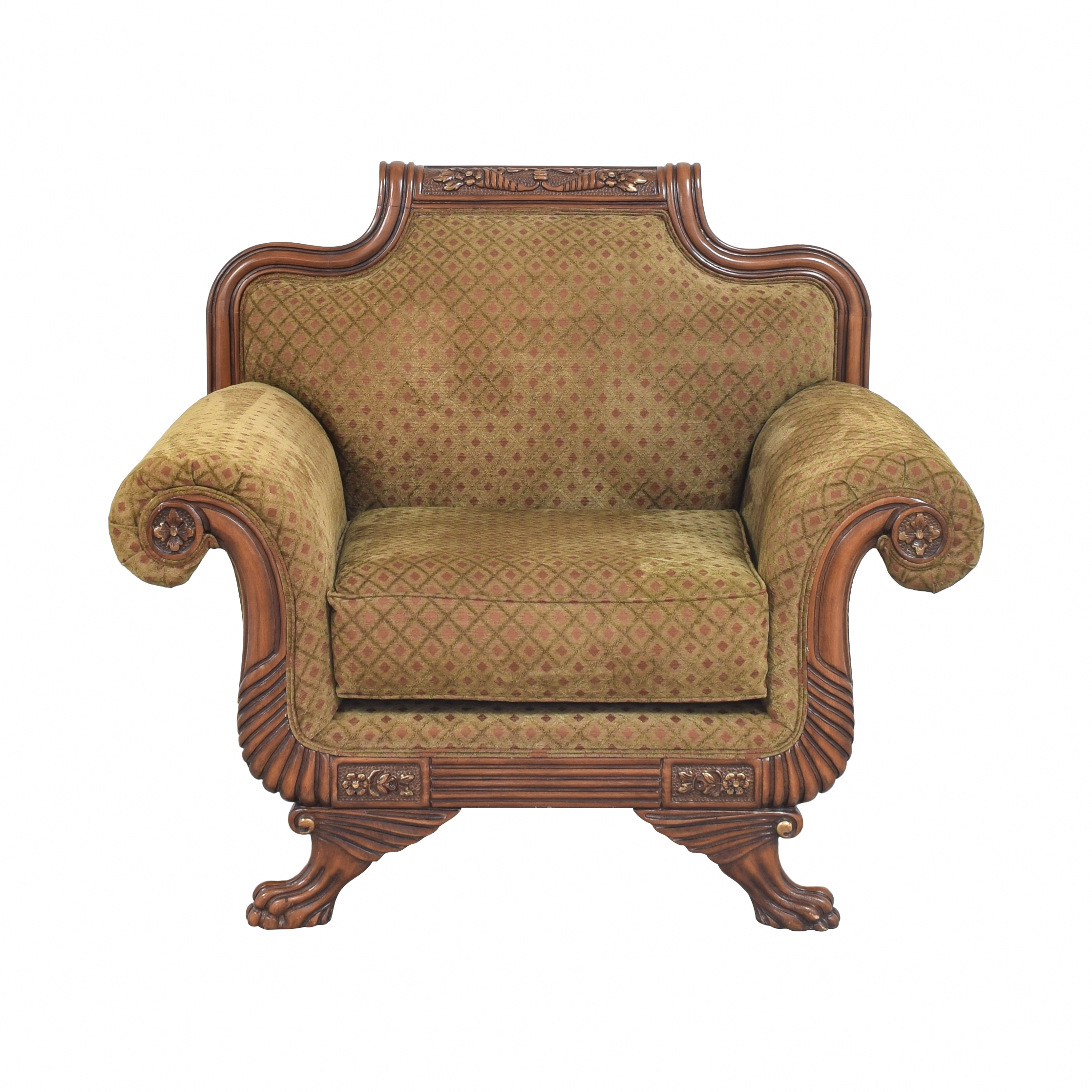 shop Francesca Imports Francesca Imports Roll Arm Chair online