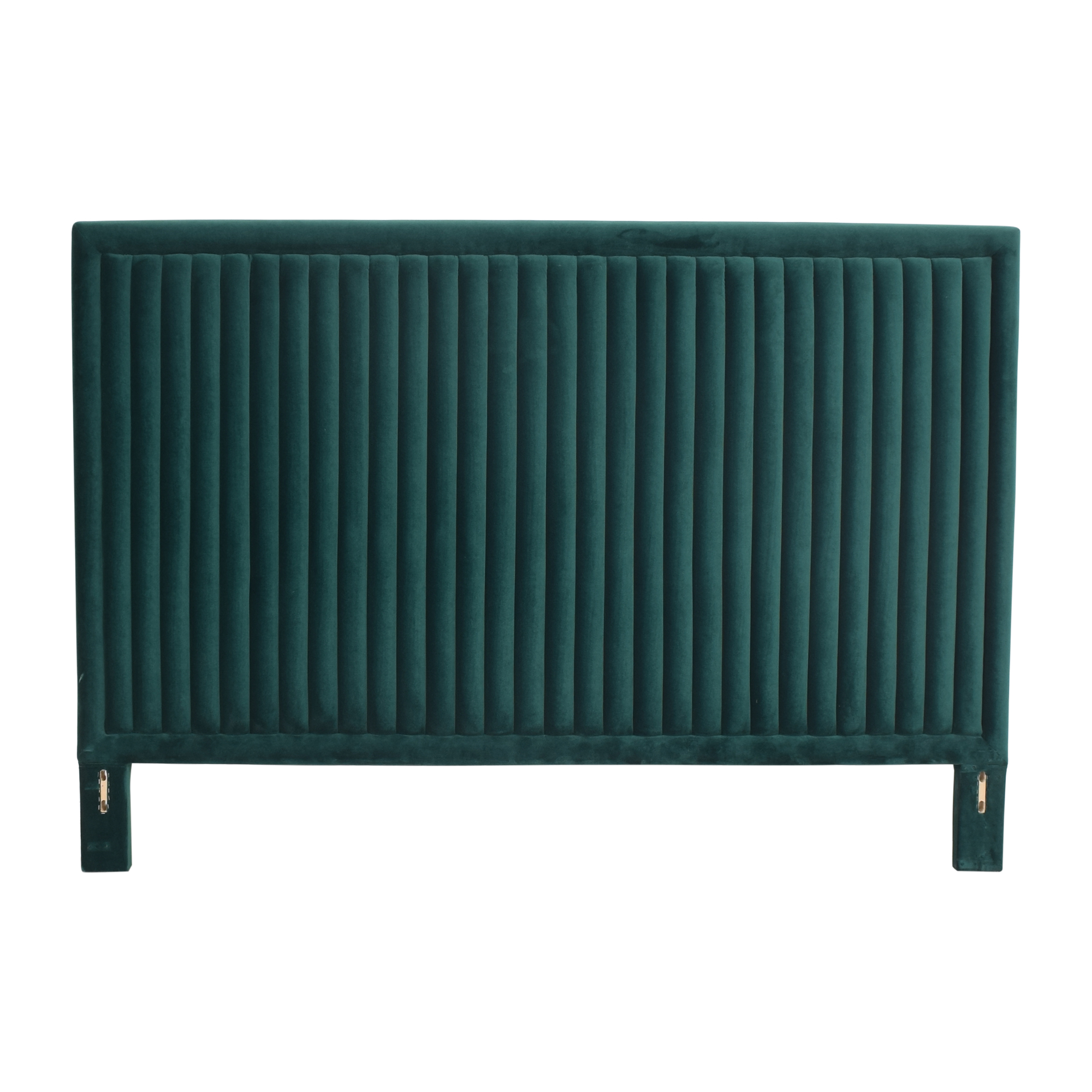 buy CB2 Channel Tufted King Headboard CB2 Beds