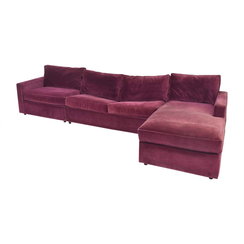 Room & Board Room & Board York Three Piece Sleeper Sectional Sofa used