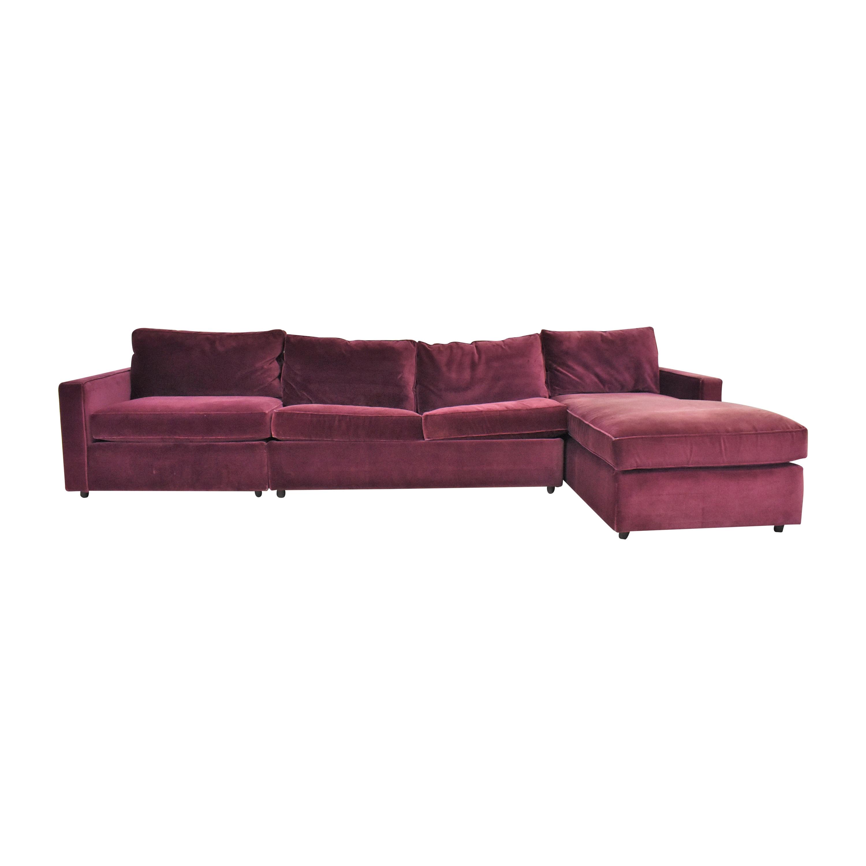 Room & Board York Three Piece Sleeper Sectional Sofa / Sofas