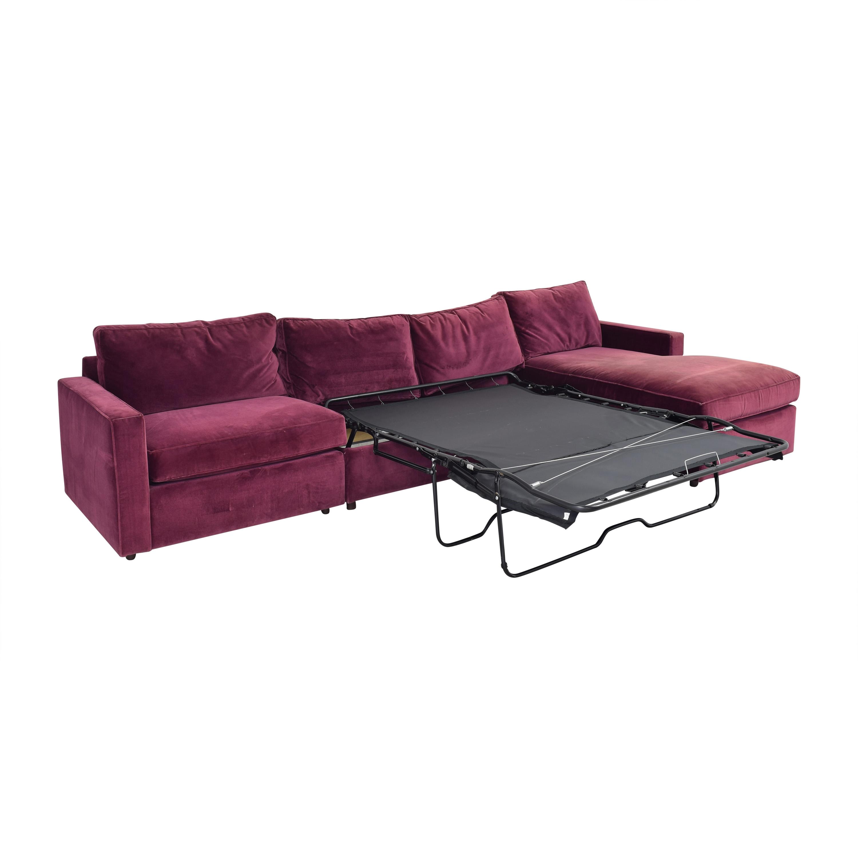 Room & Board York Three Piece Sleeper Sectional Sofa / Sectionals