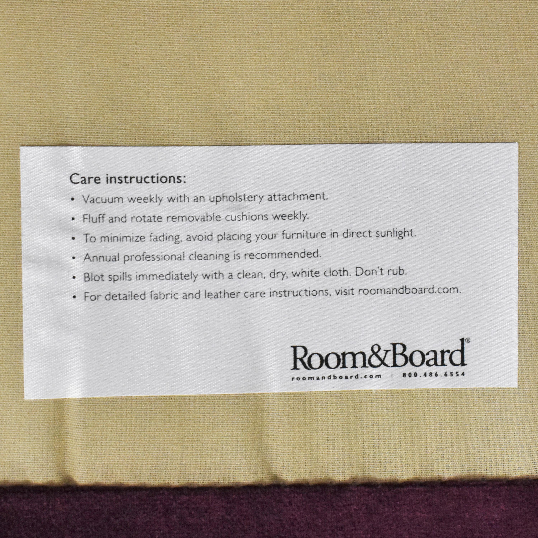buy Room & Board York Three Piece Sleeper Sectional Sofa Room & Board Sectionals