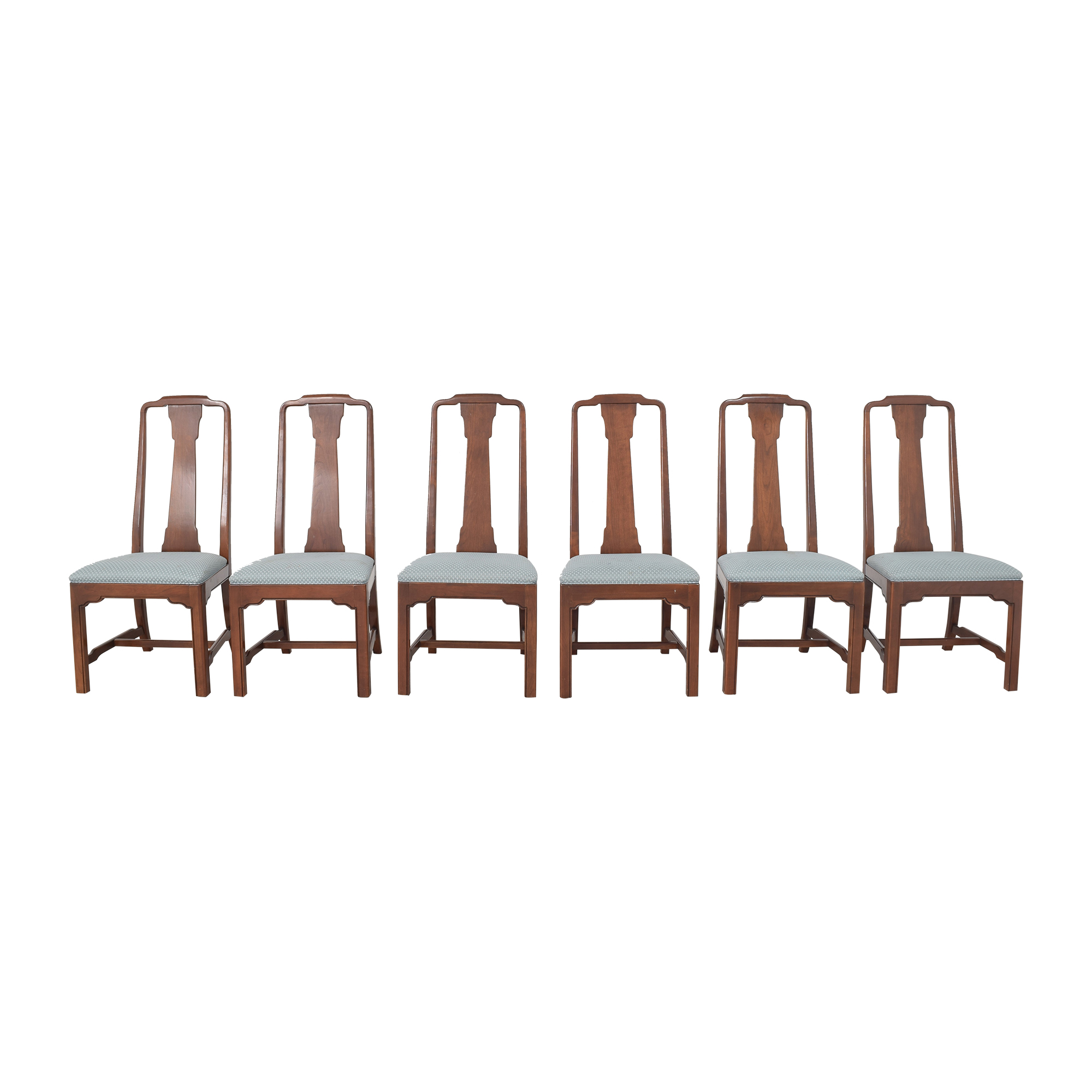 shop Ethan Allen Canova Campaign Dining Chairs Ethan Allen Dining Chairs