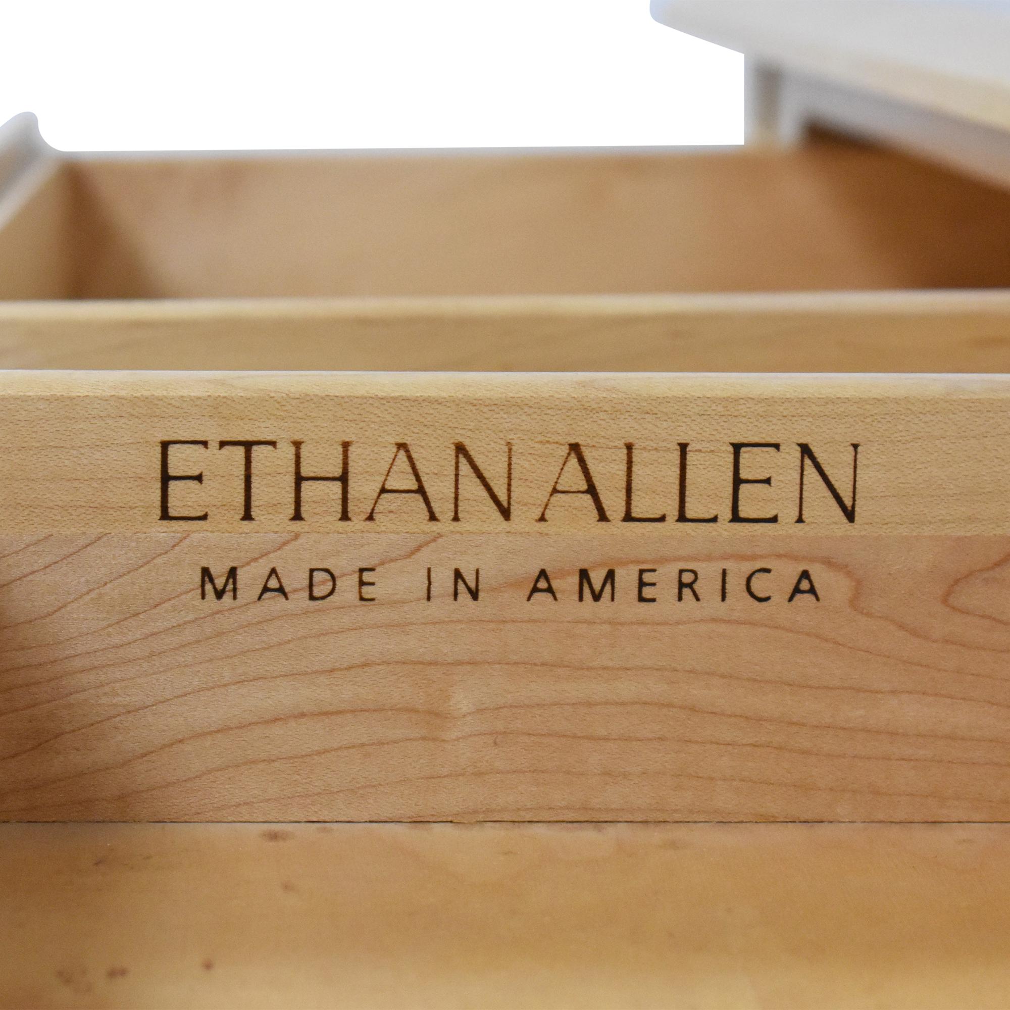shop Ethan Allen American Dimensions Console Table Ethan Allen Tables