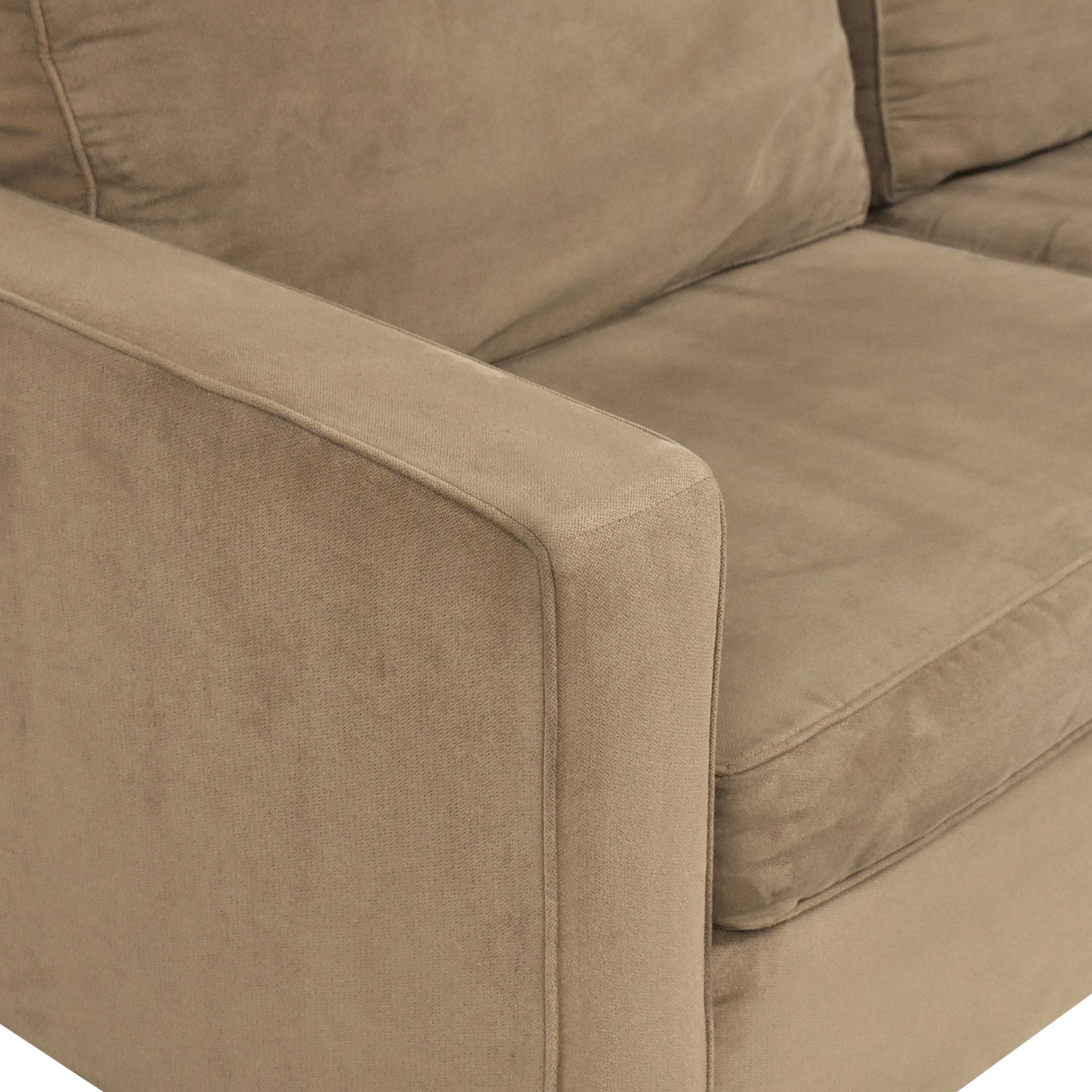 West Elm West Elm Henry Two Cushion Sofa pa