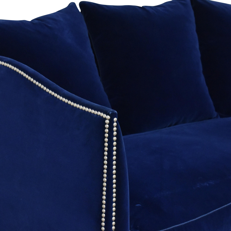 Nailhead Single Cushion Sofa coupon