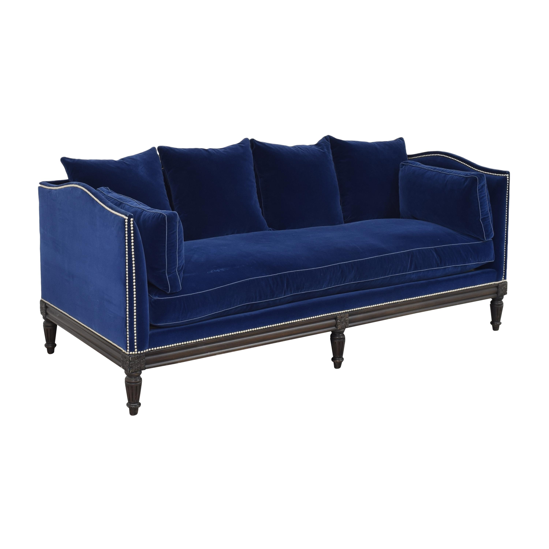 shop Nailhead Single Cushion Sofa