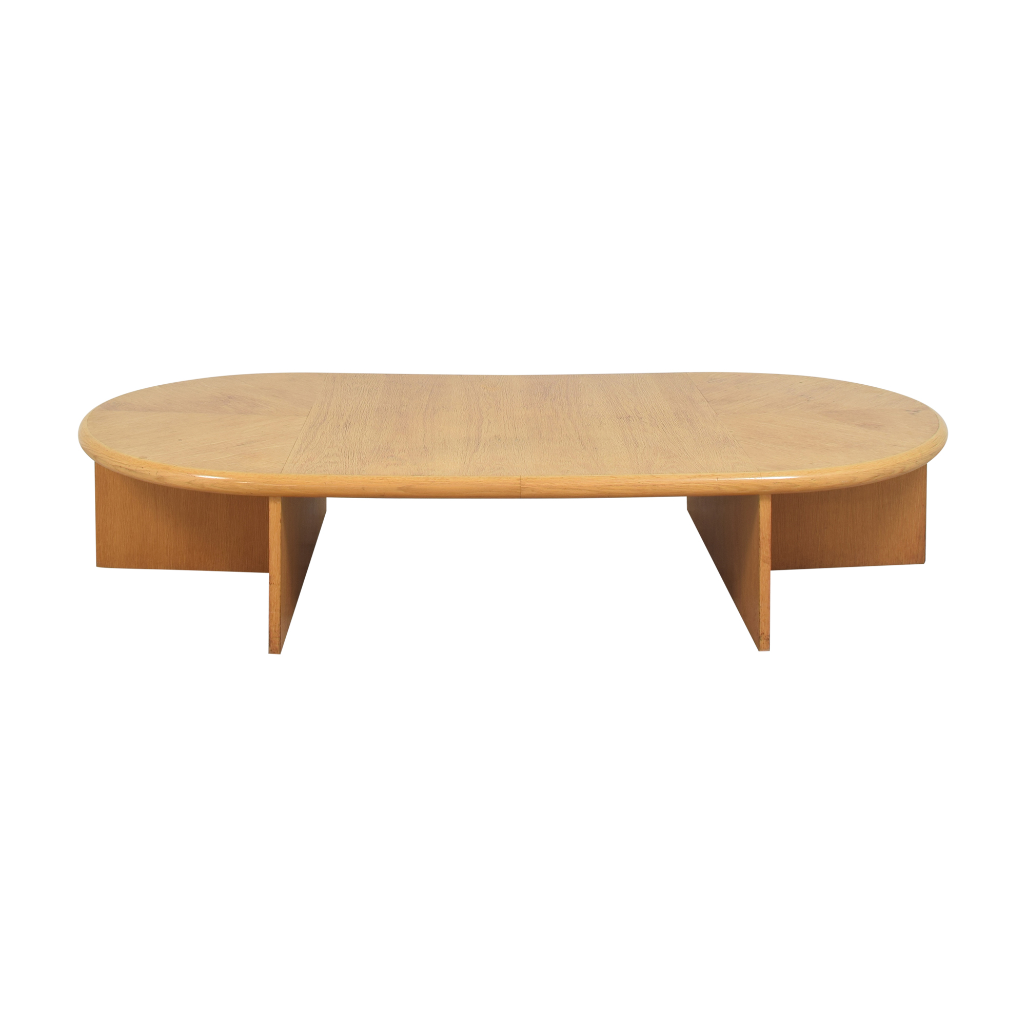 Gwathmey Siegel Modern Oval Coffee Table second hand