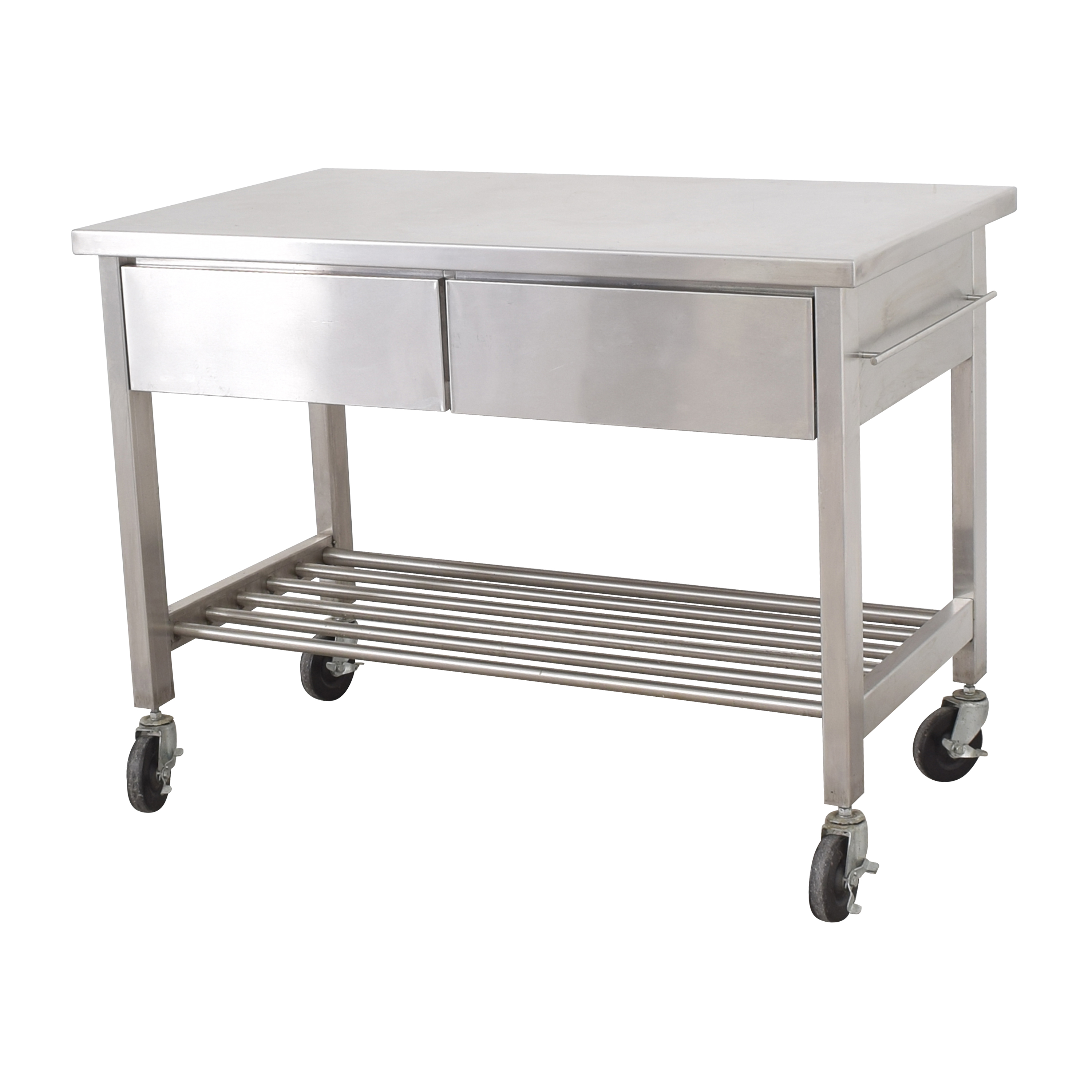 shop Industrial Kitchen Island  Utility Tables