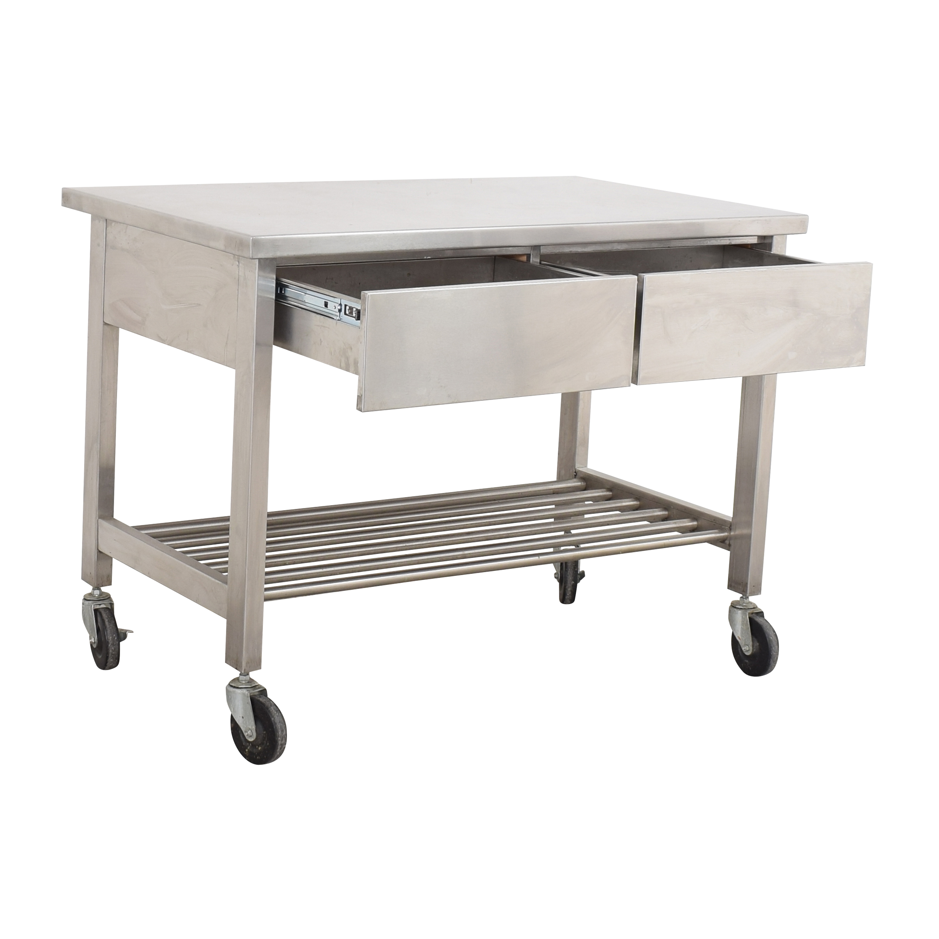 Industrial Kitchen Island used