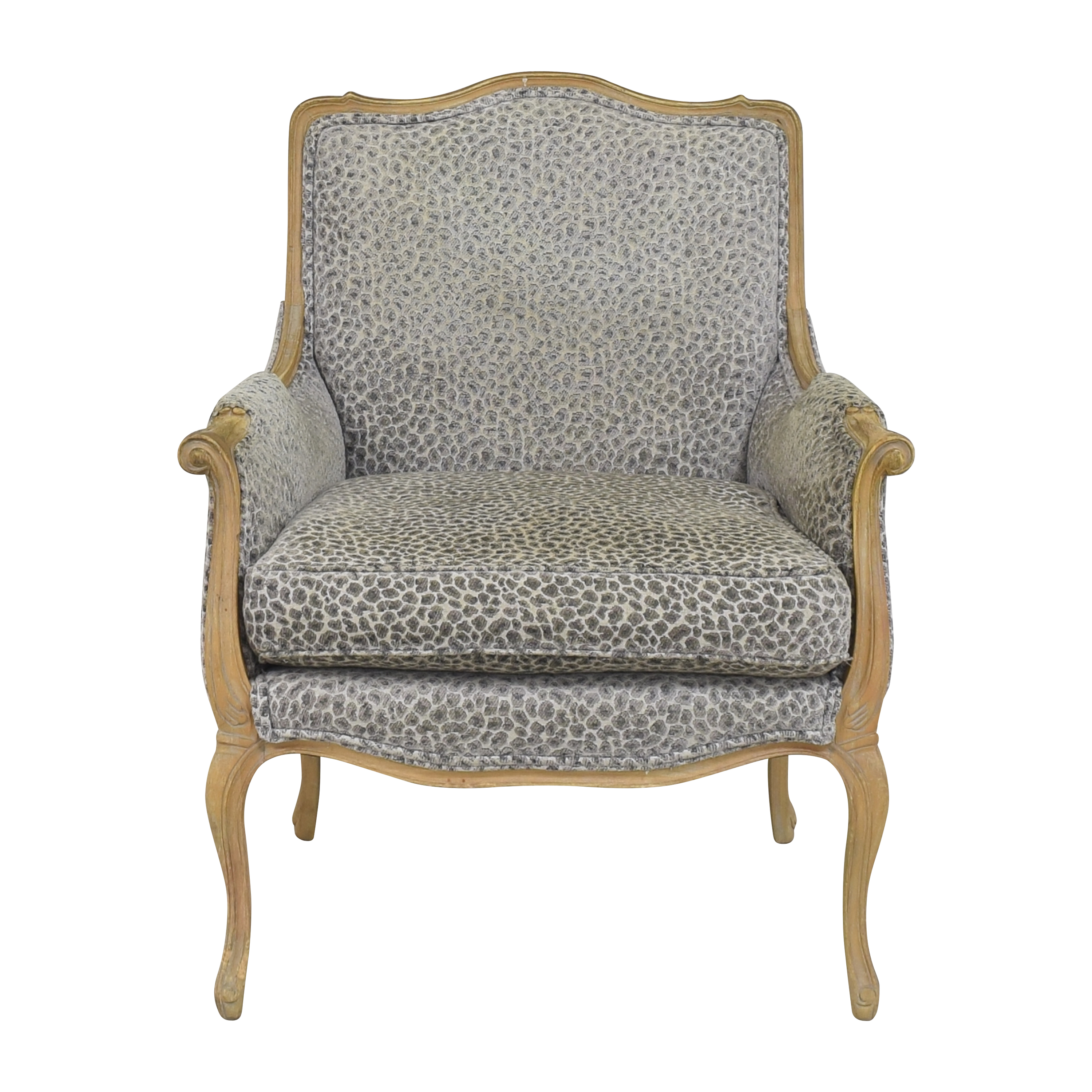 buy Animal Print Bergere Chair  Chairs