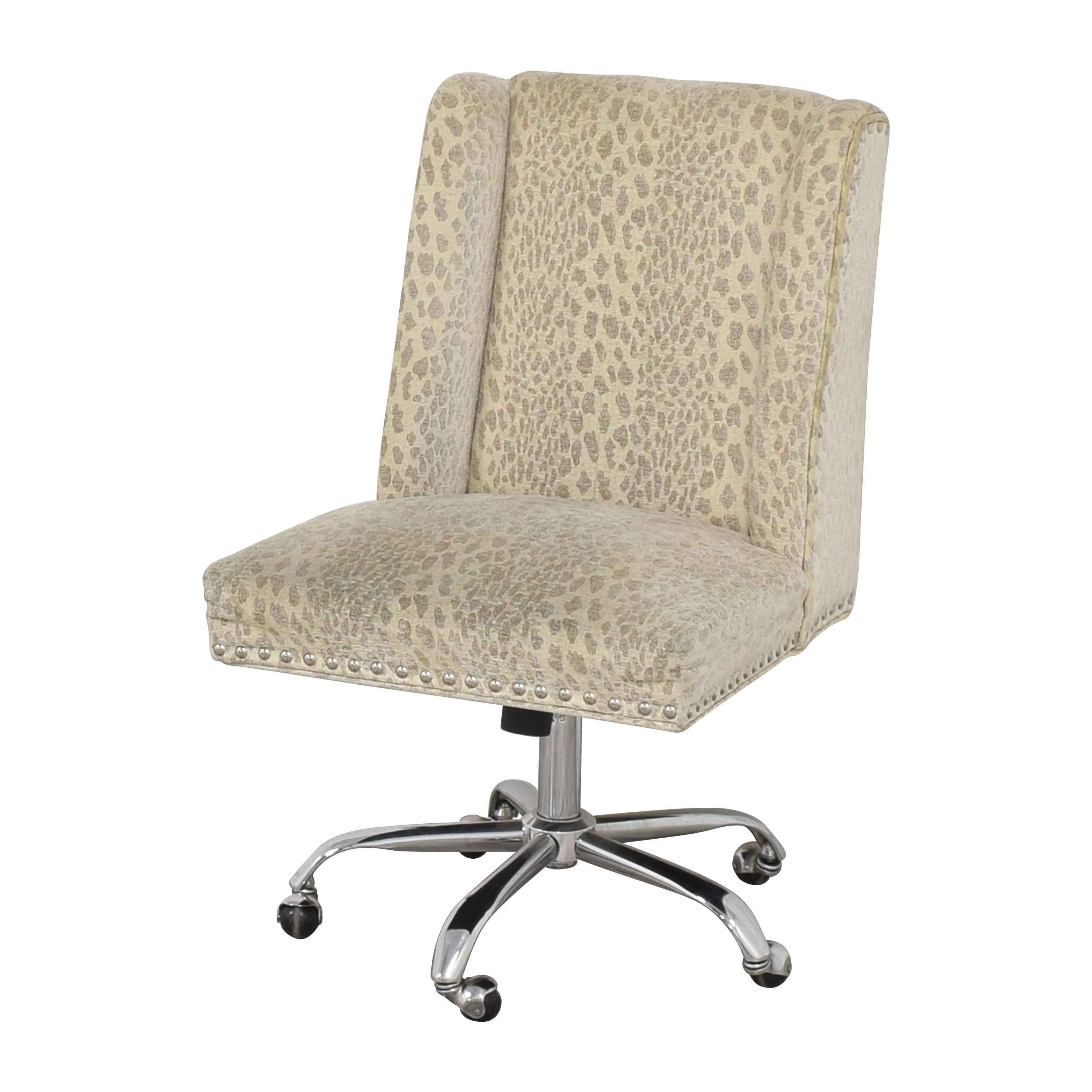 Fabric Desk Office Chair used