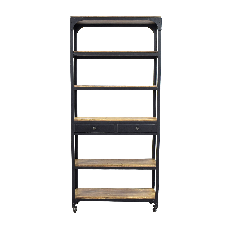 Anthropologie Anthropologie Decker Five-Shelf Bookshelf Storage