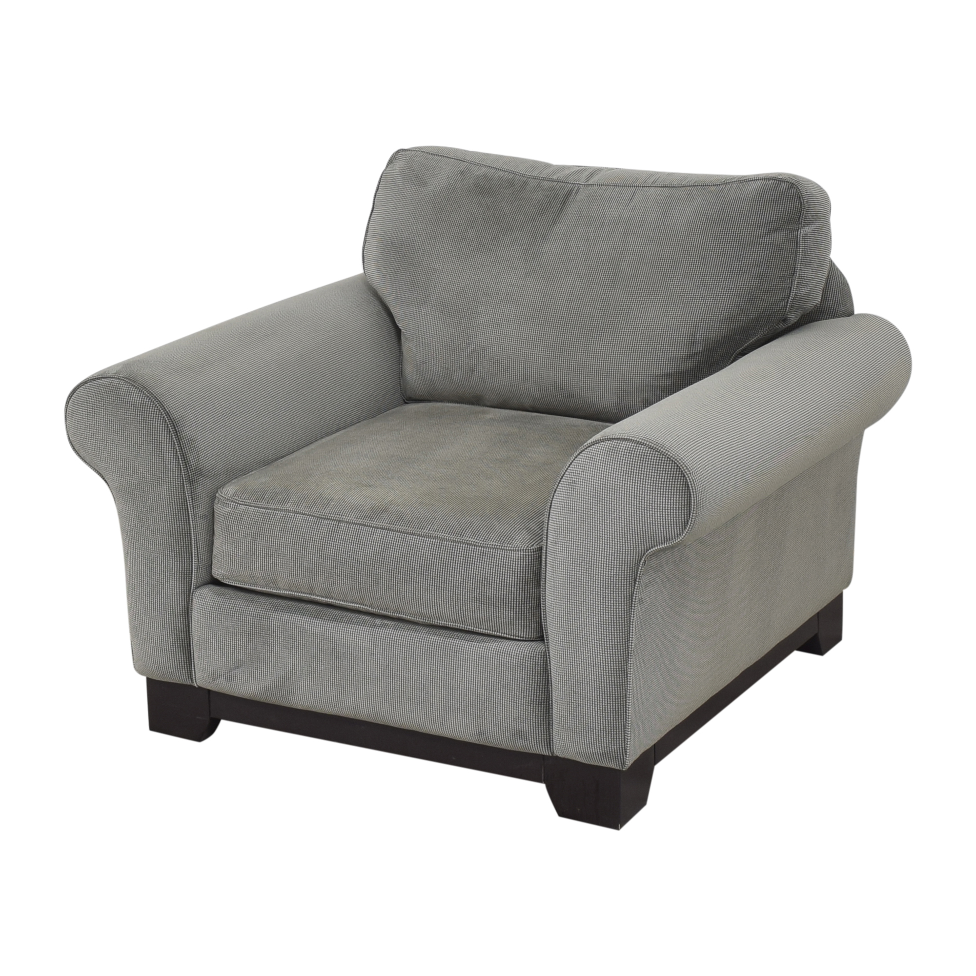 buy Macy's Medland Armchair with Ottoman Macy's