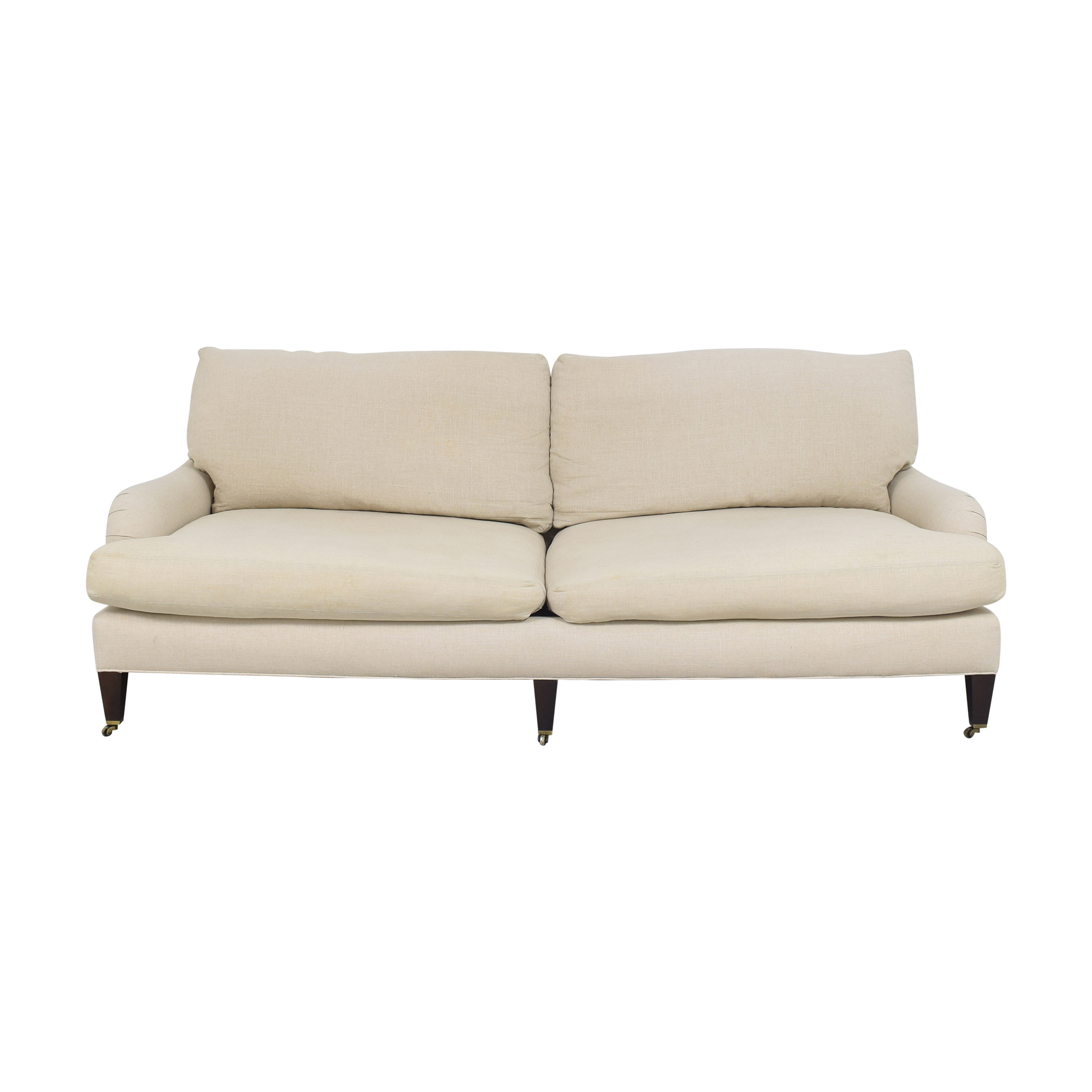 Crate & Barrel Crate & Barrel Essex Sofa with Casters discount