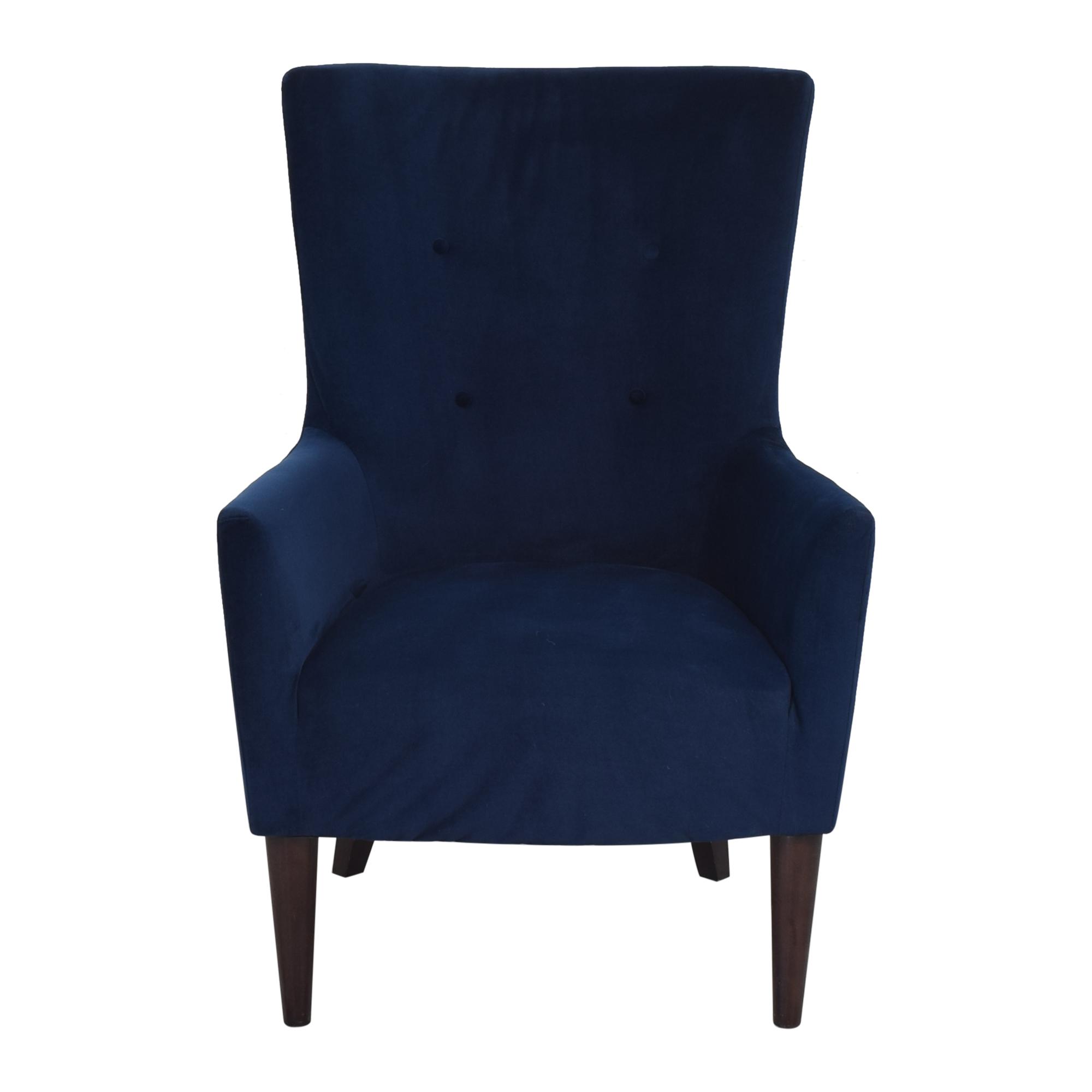 shop West Elm Victor Armchair West Elm Accent Chairs