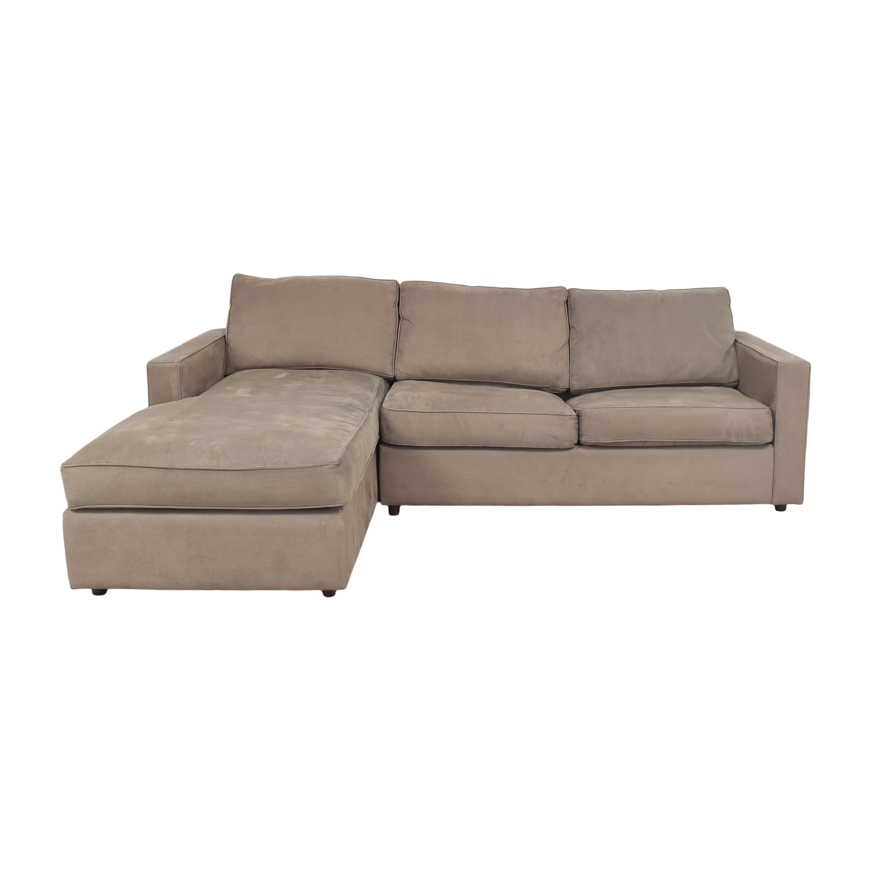Room & Board Room & Board York Sleeper Sofa with Chaise nyc