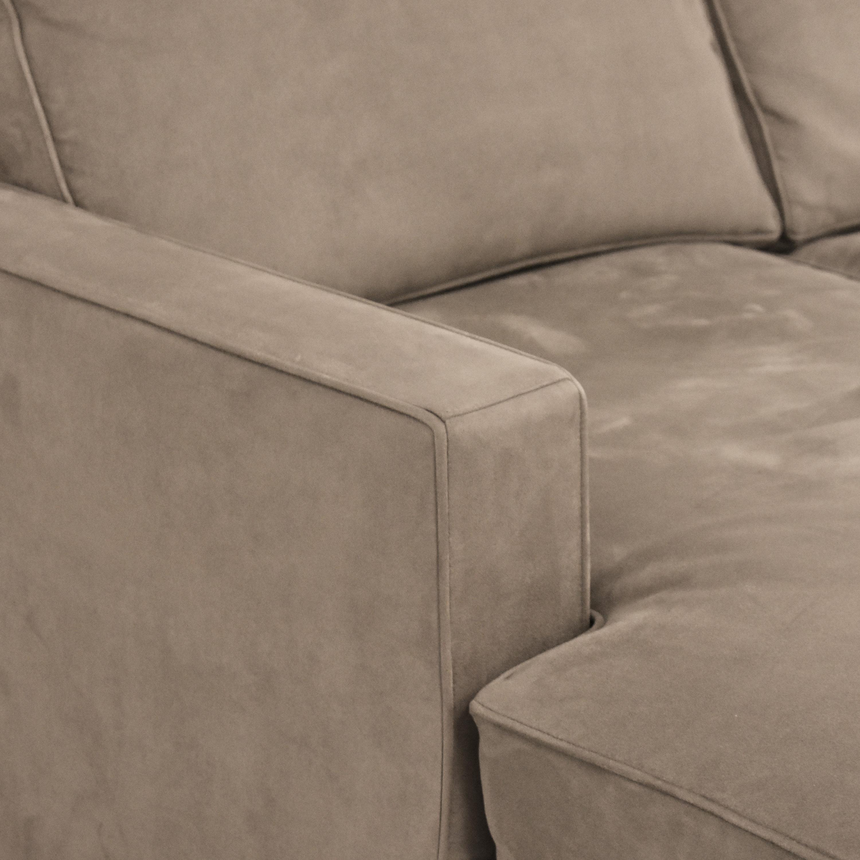 Room & Board Room & Board York Sleeper Sofa with Chaise on sale