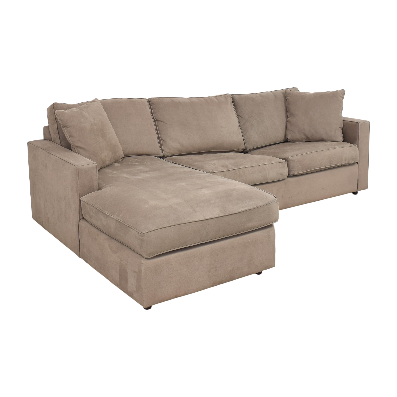 Room & Board Room & Board York Sleeper Sofa with Chaise nj