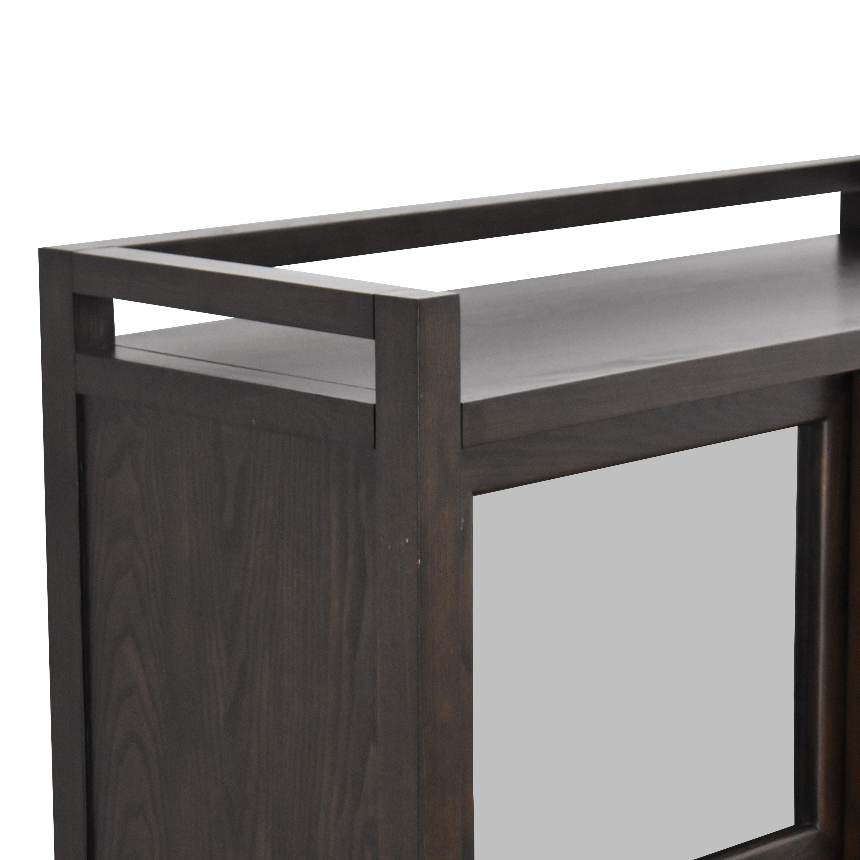 buy Crate & Barrel Crate & Barrel Sliding Door Media Console online