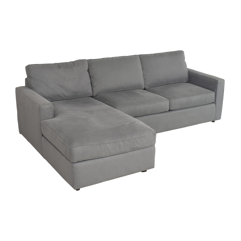 shop Room & Board York Chaise Sectional Sofa Room & Board