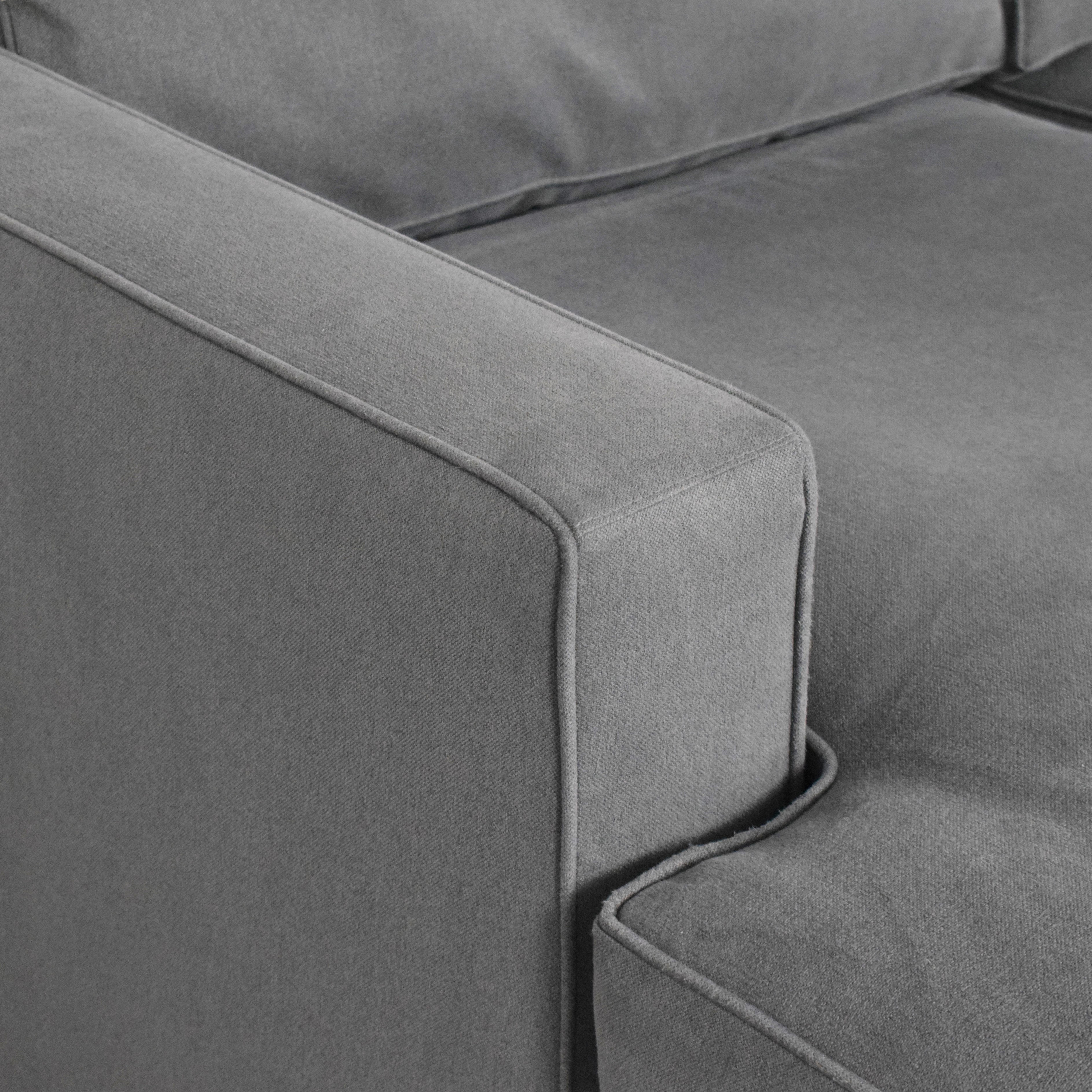 buy Room & Board Room & Board York Chaise Sectional Sofa online