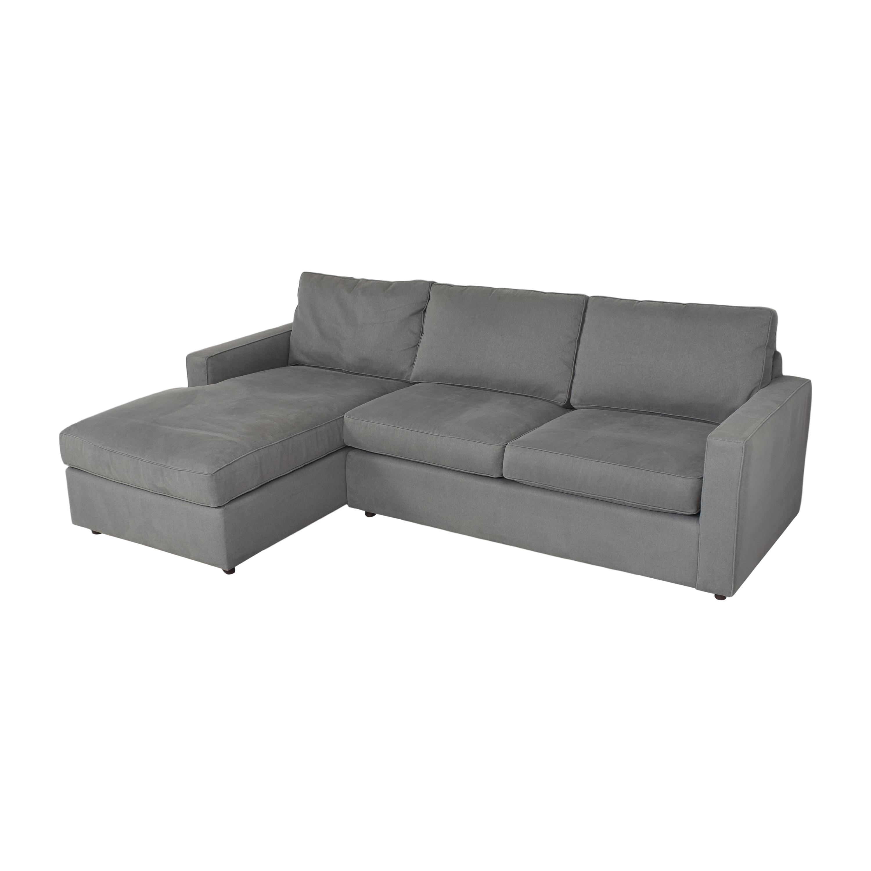 Room & Board York Chaise Sectional Sofa / Sofas
